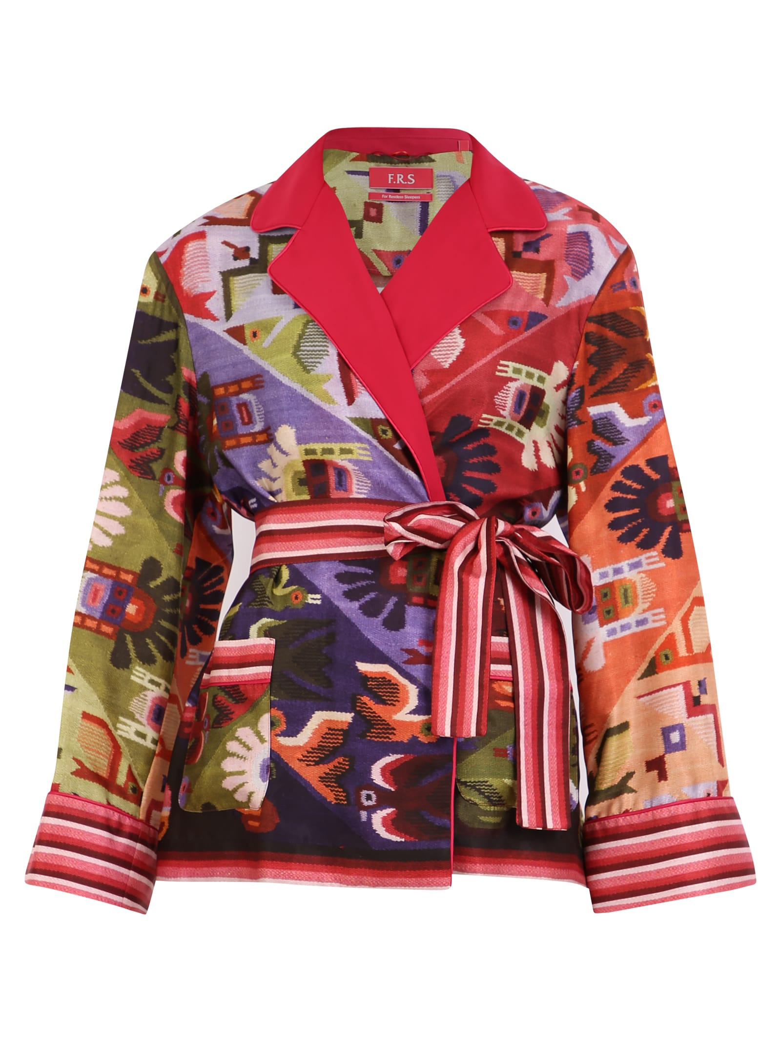 For Restless Sleepers Printed Jacket