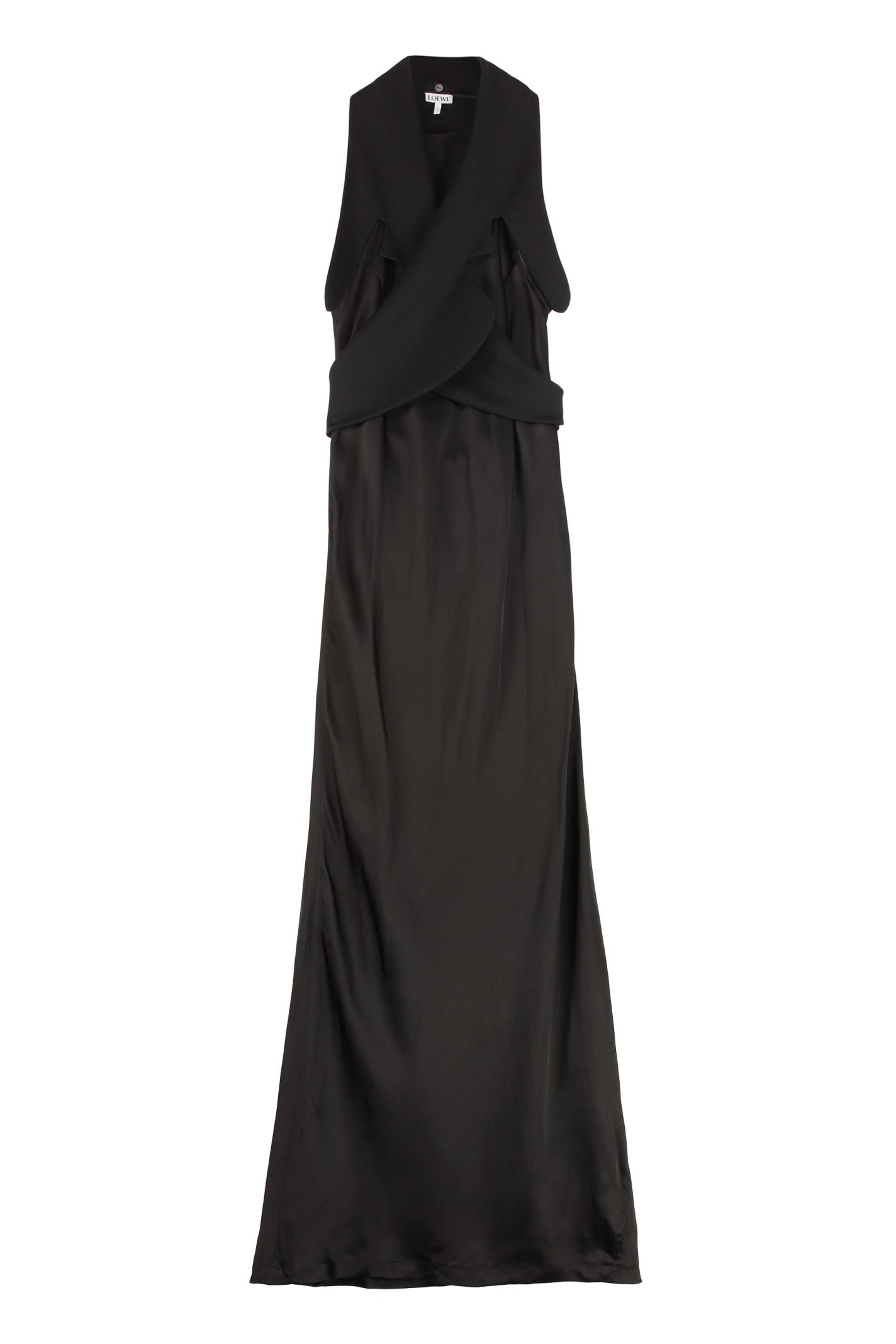 Buy Loewe Viscose Dress online, shop Loewe with free shipping