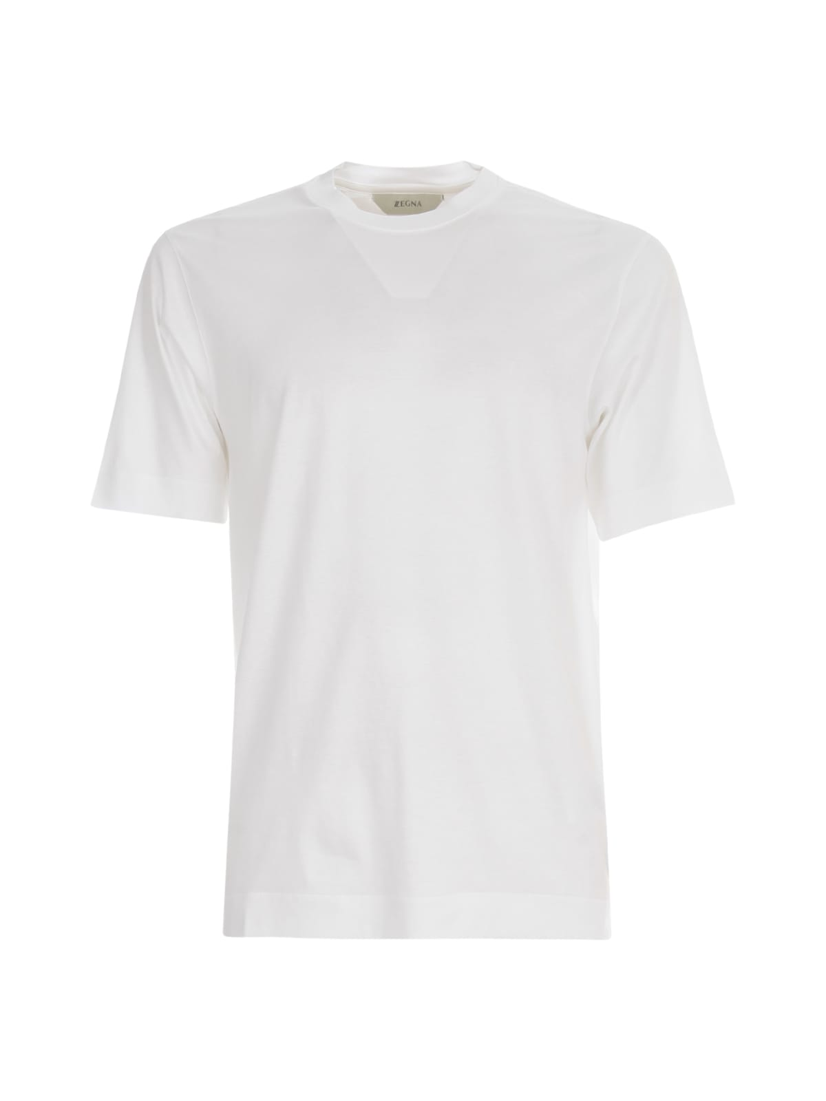 Z Zegna Cottons COTTON INTERLOCK T-SHIRT