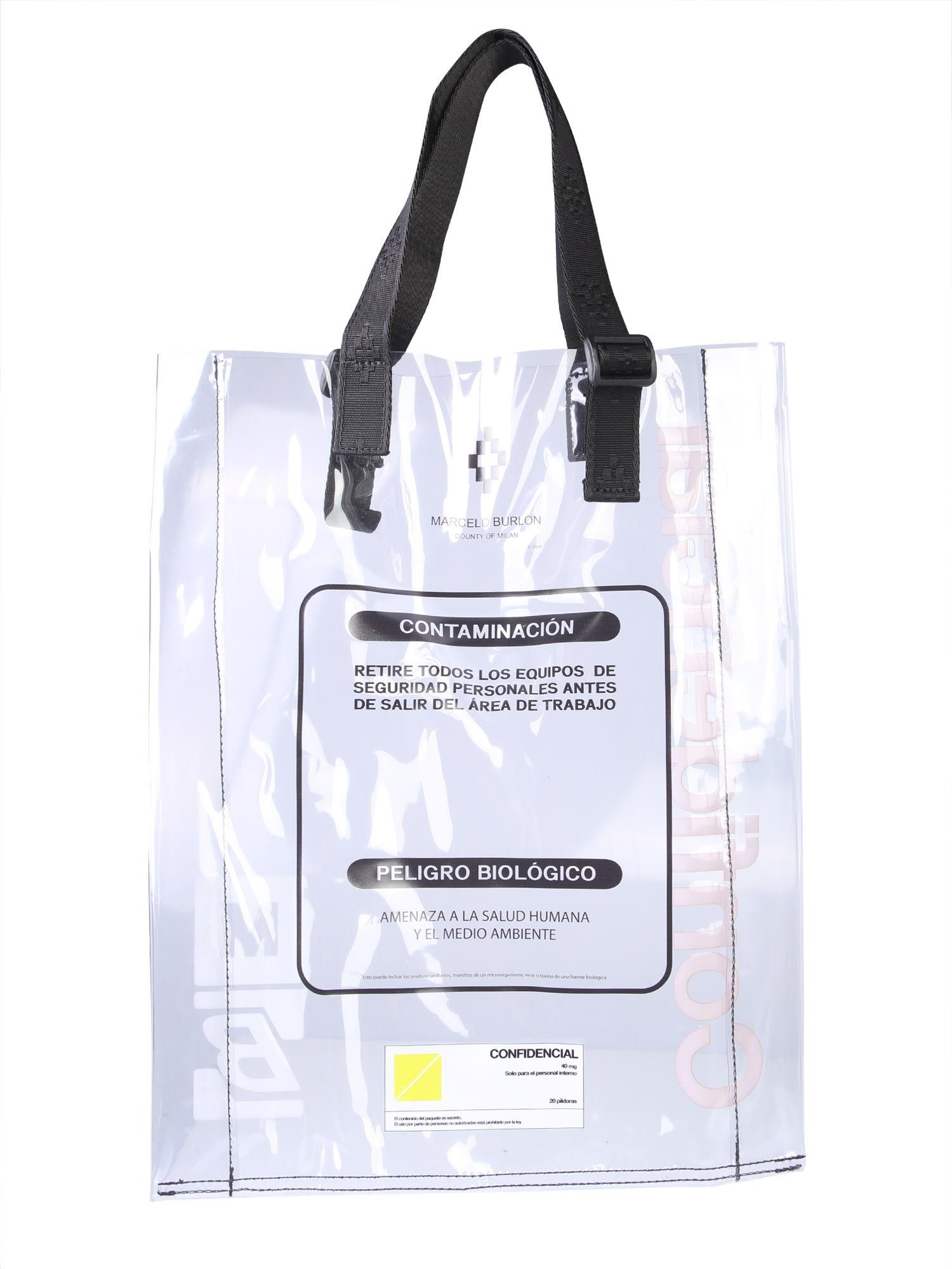 Warning Shopping Bag