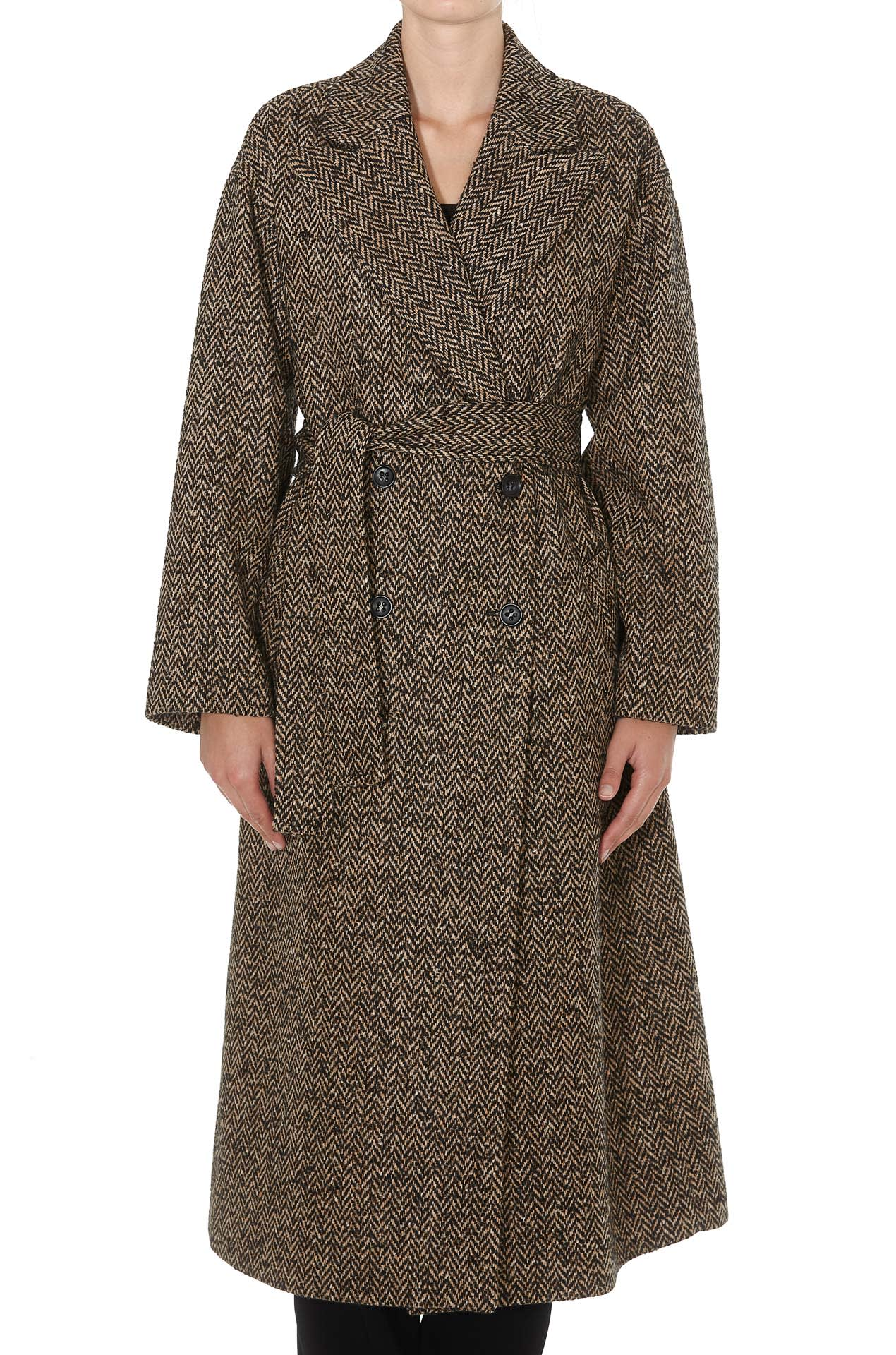 Red Valentino Coat With Belt