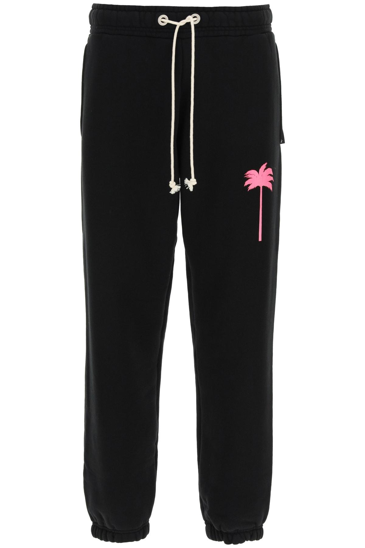 Palm Angels NEON PALM TREE PRINT JOGGERS