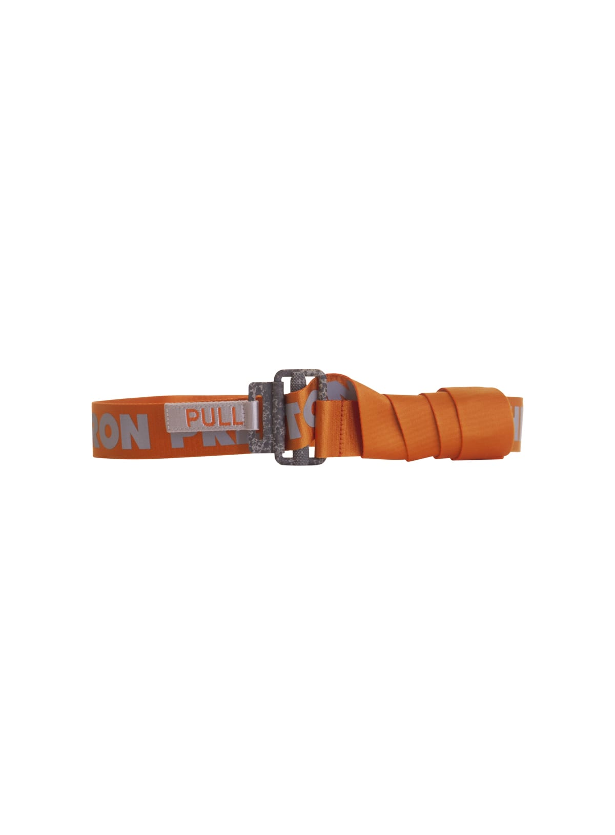 Orange Heron Preston Tape Belt