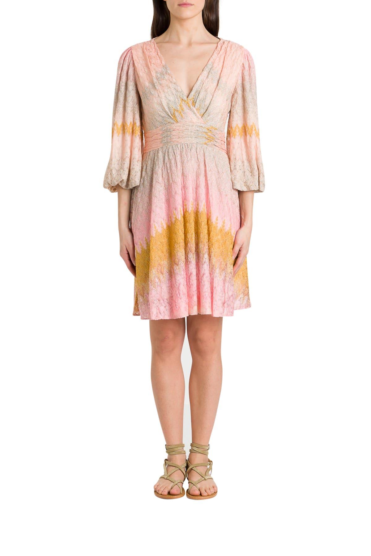 Buy Missoni Lurex Knit Dress online, shop Missoni with free shipping