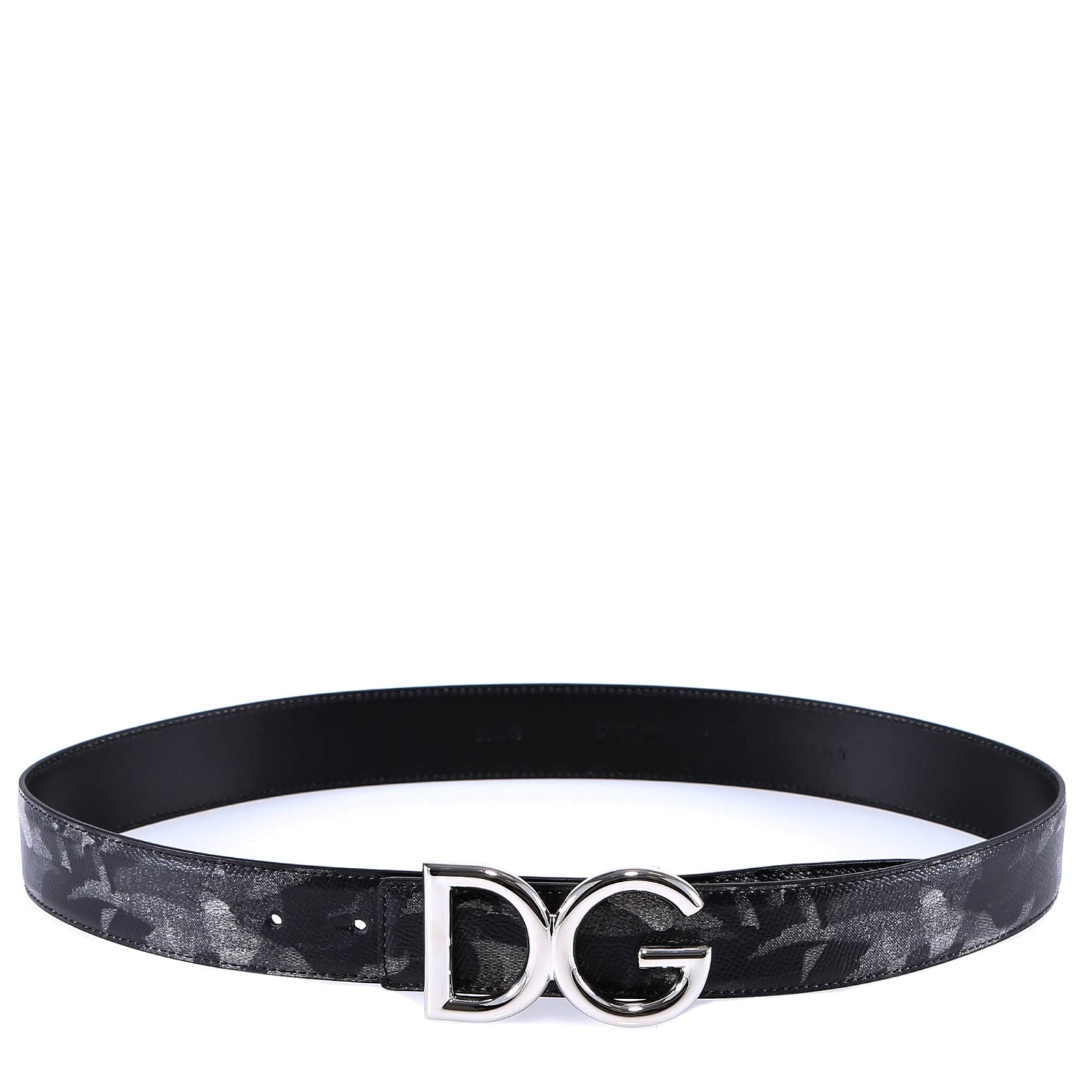 Dolce & Gabbana Belt In Grey