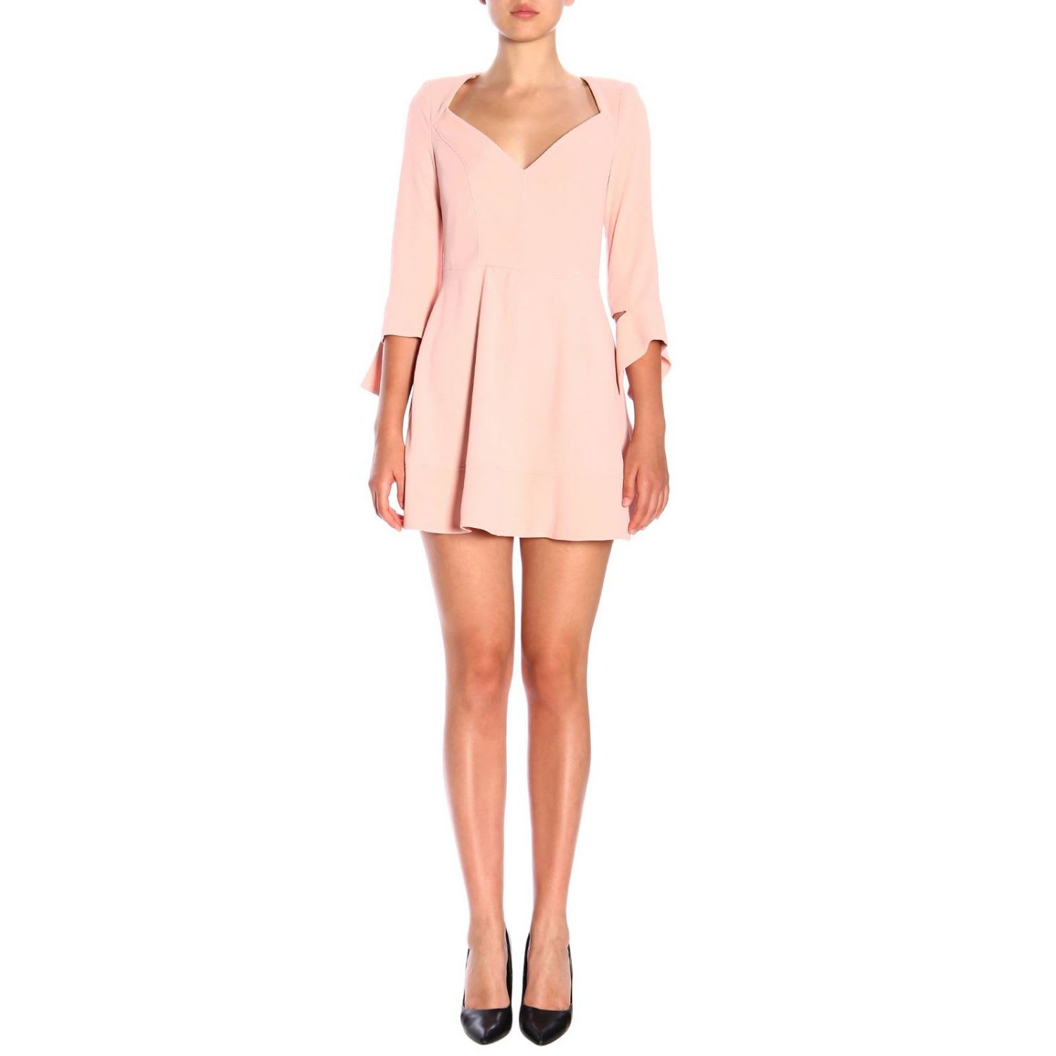 Elisabetta Franchi Dress Elisabetta Franchi Dress With Petal Skirt