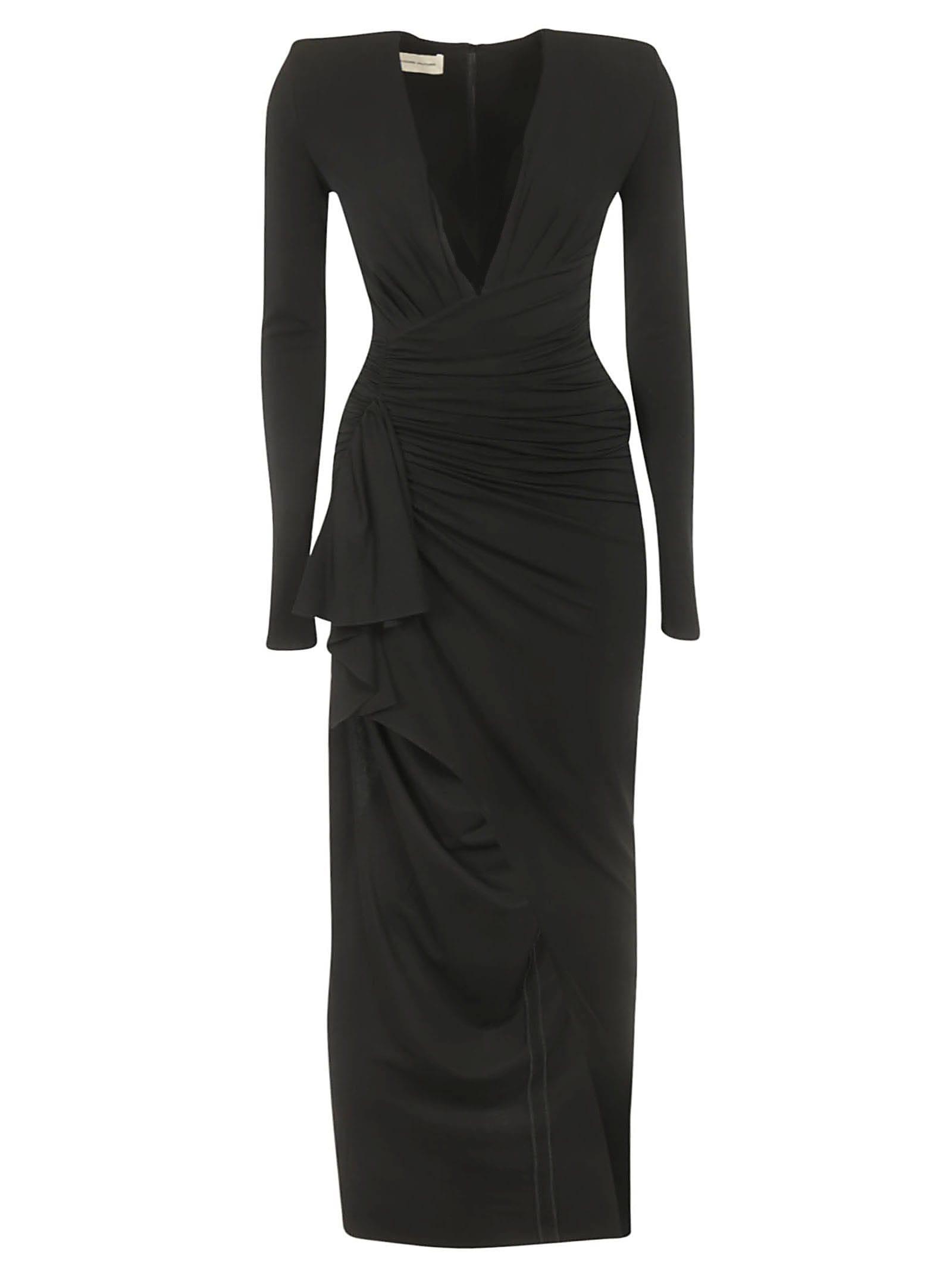 Photo of  Alexandre Vauthier Ruched Dress- shop Alexandre Vauthier  online sales