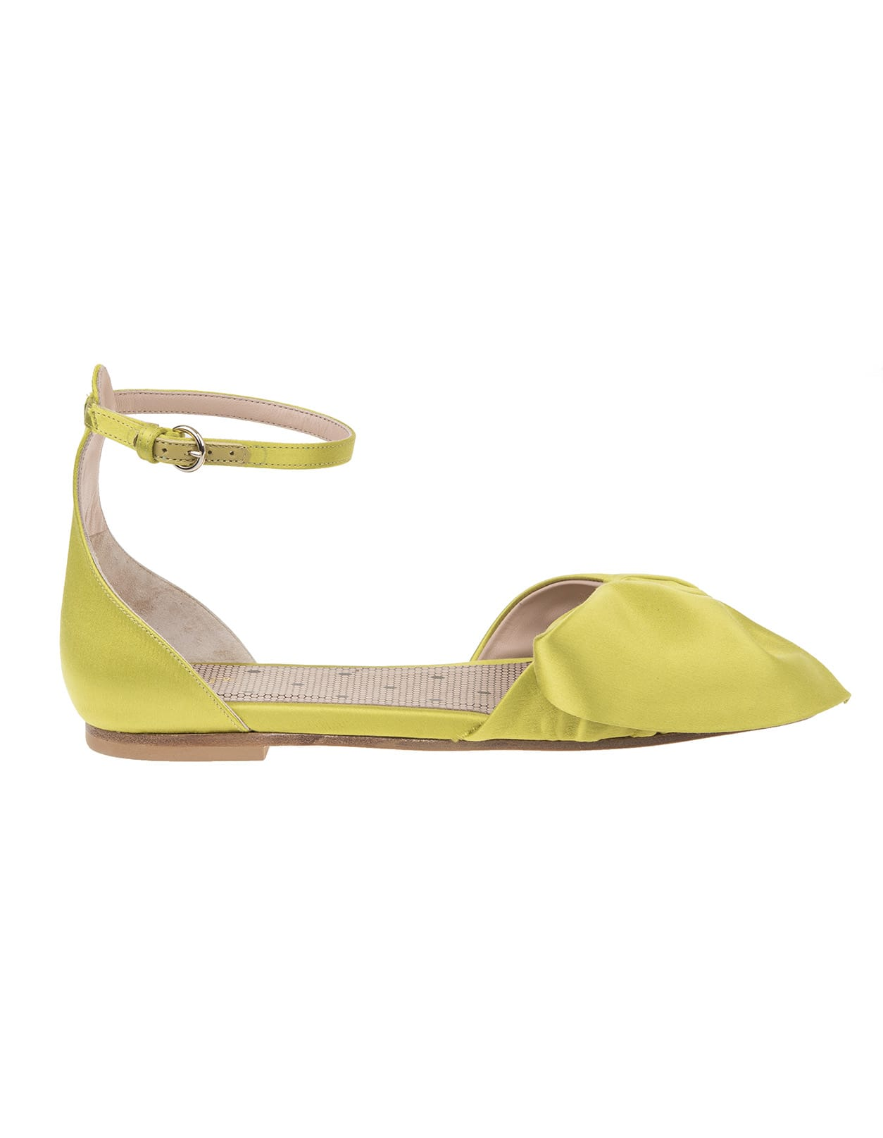 Buy RED Valentino Satin Sandals online, shop RED Valentino shoes with free shipping