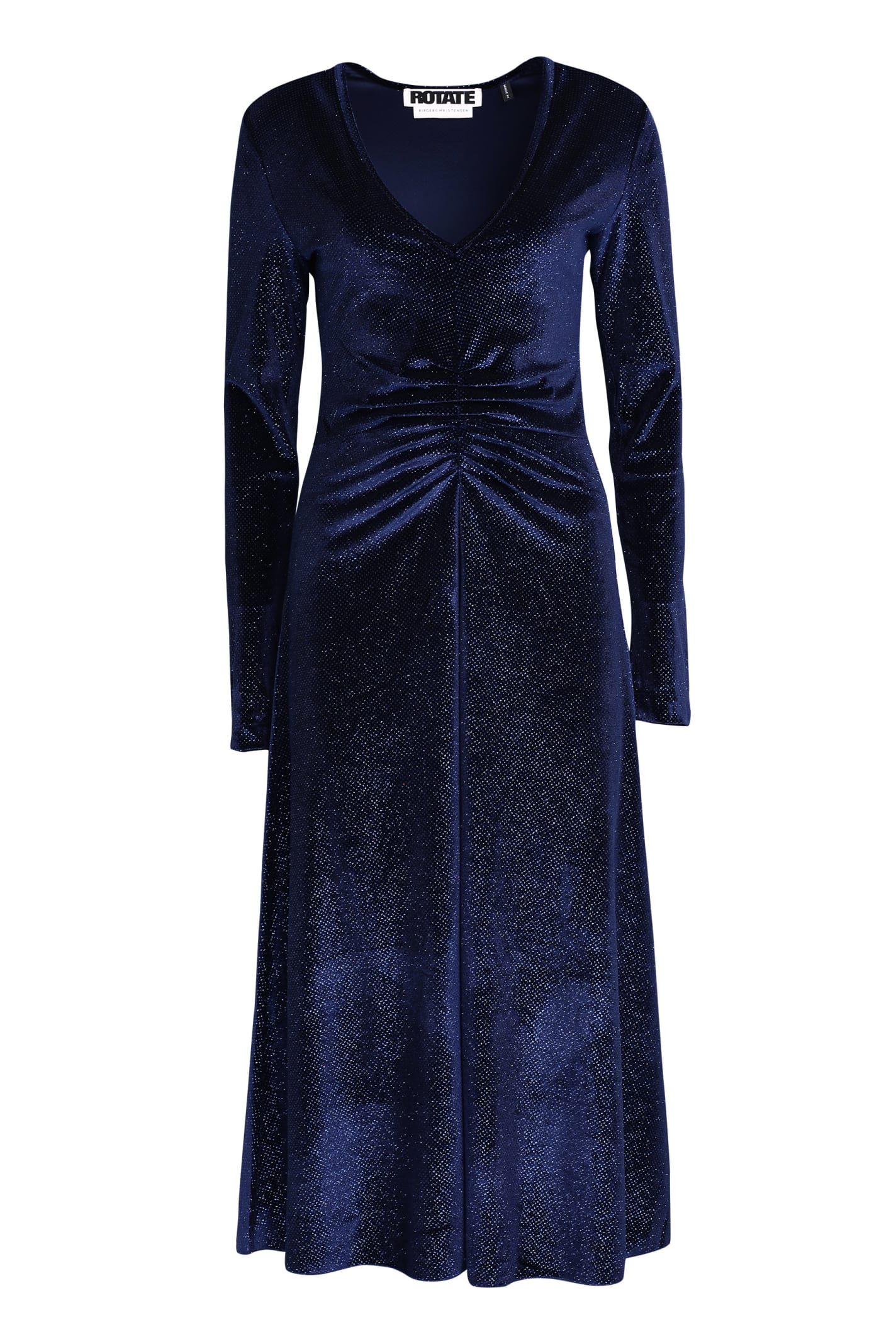 Rotate by Birger Christensen Glitter Velvet Dress