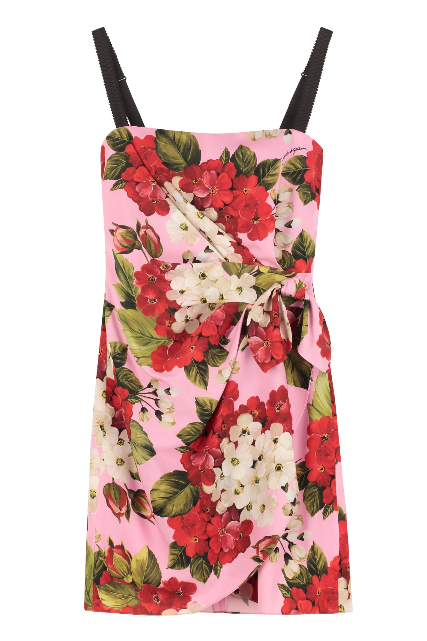 Dolce & Gabbana Printed Corset Dress