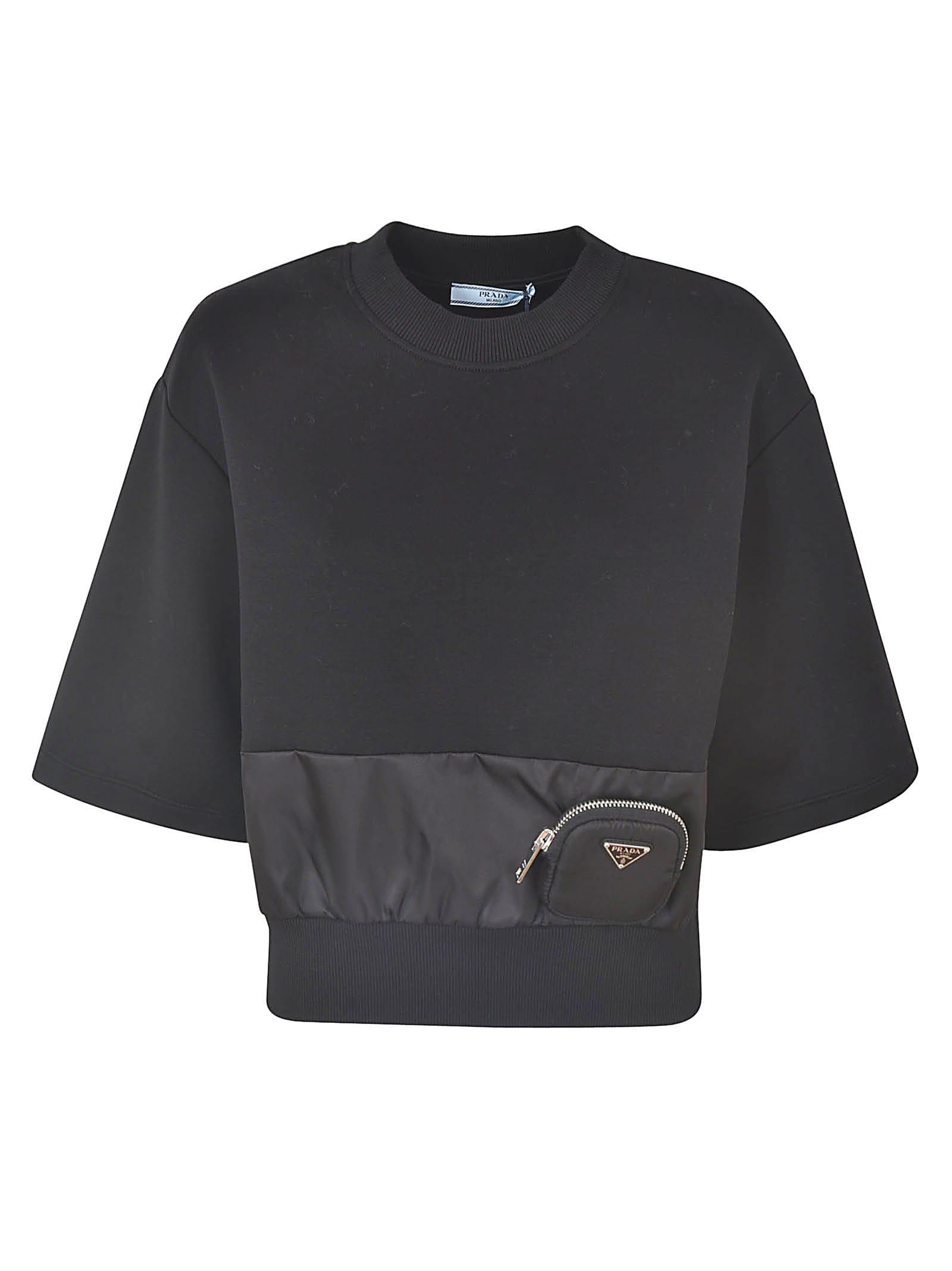 Prada Pocket Applique Top