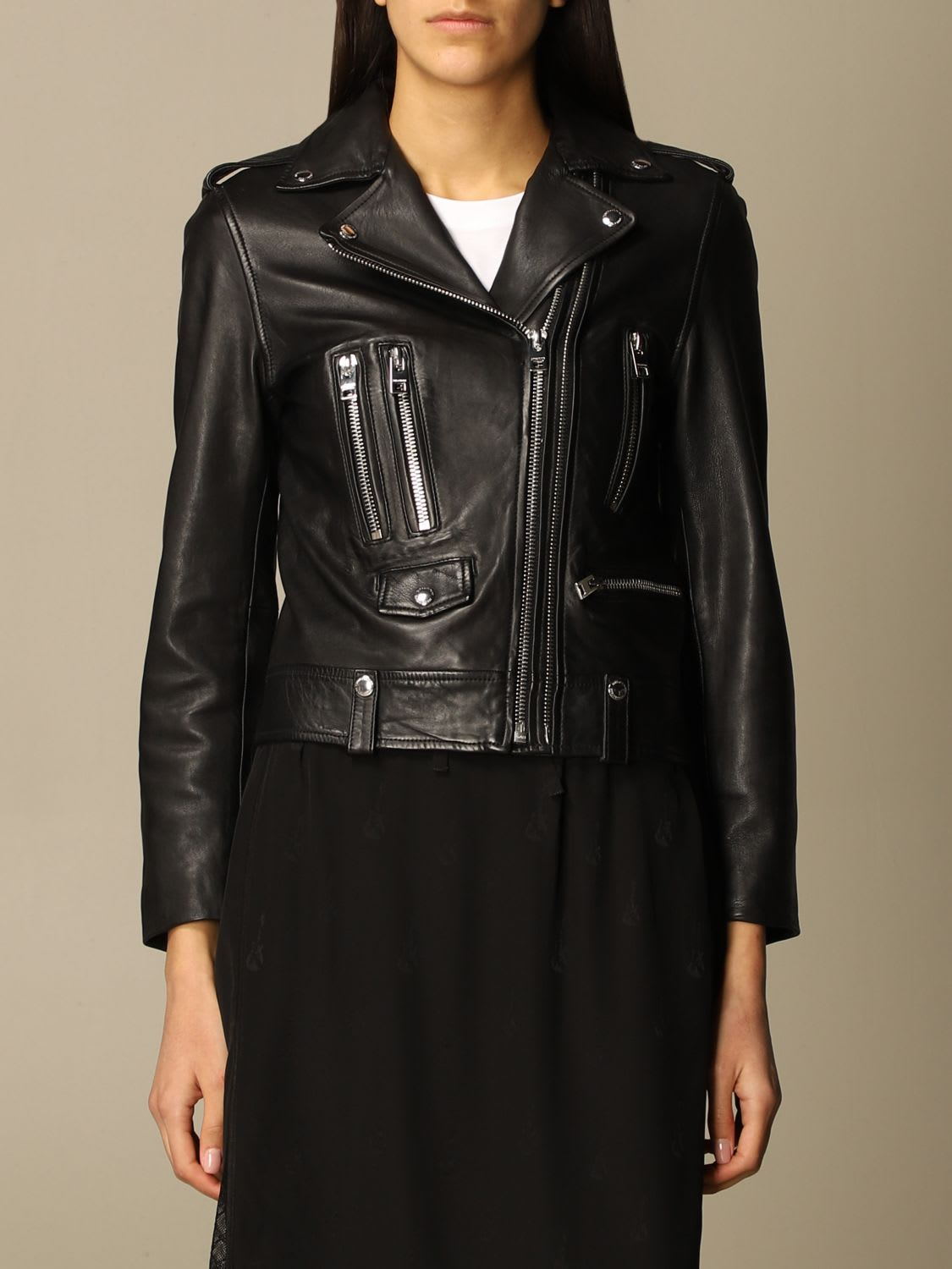 Zadig & Voltaire Jacket Zadig & Voltaire Jacket In Real Leather
