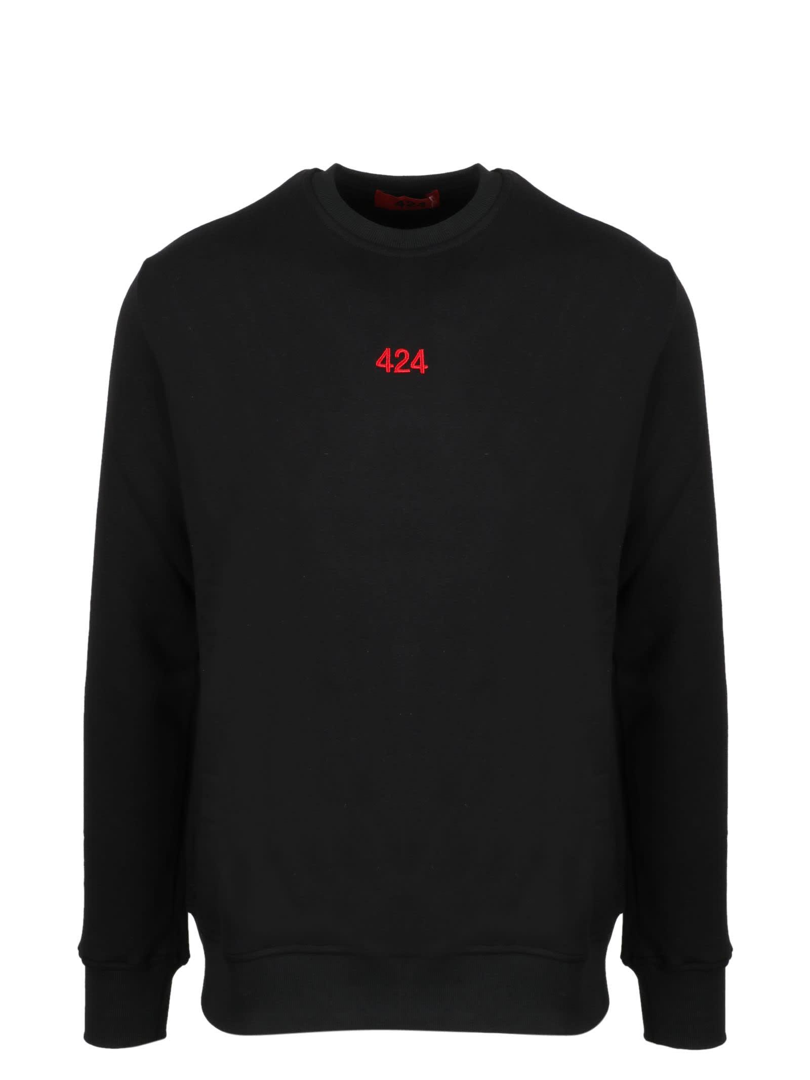 424 Embroidered Sweatshirt