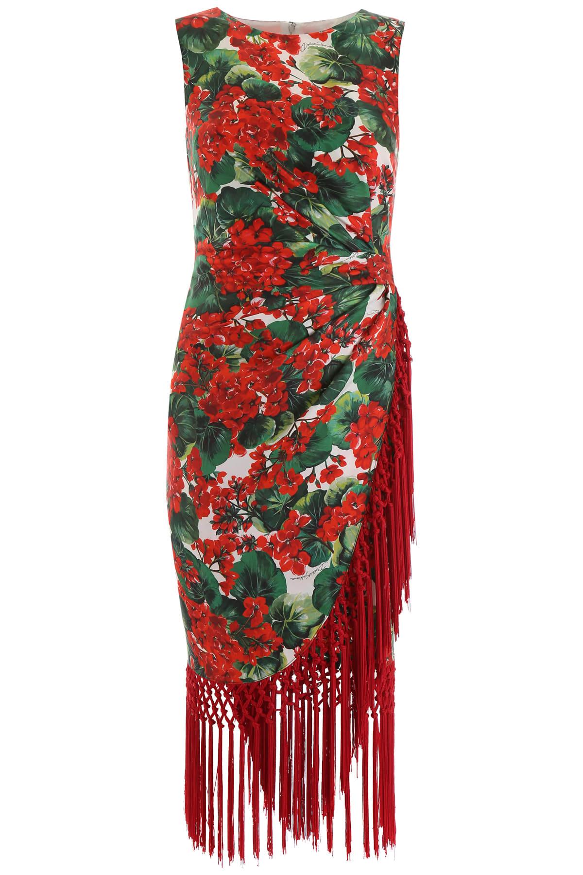 Dolce & Gabbana Fringed Dress