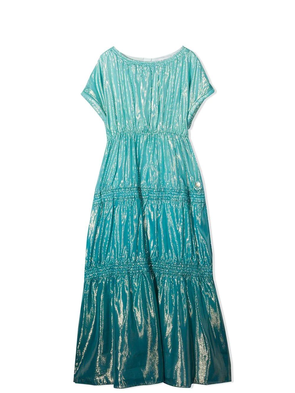 Buy Lanvin Long Dress online, shop Lanvin with free shipping