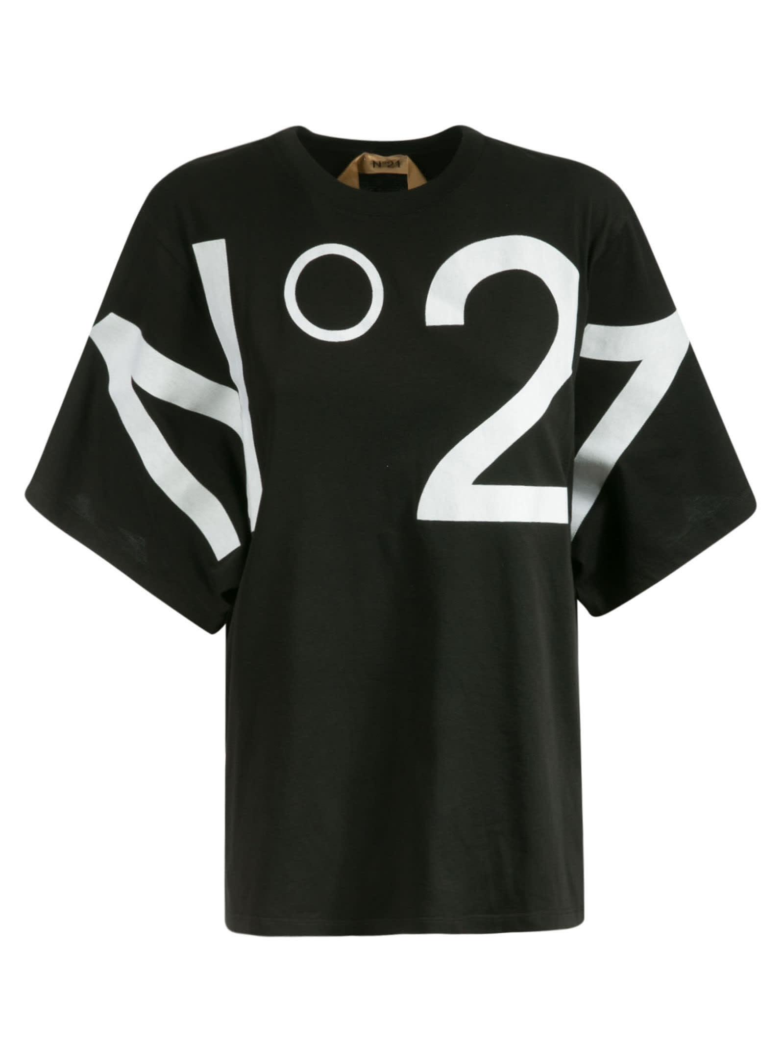 N°21 LOGO PRINT T-SHIRT
