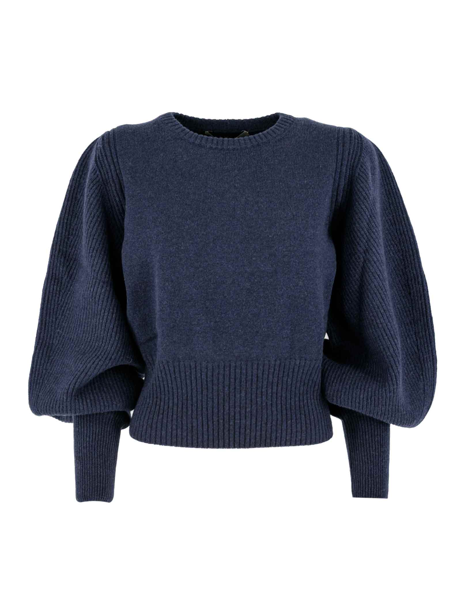 Wool-cashmere-silk Blend Sweater