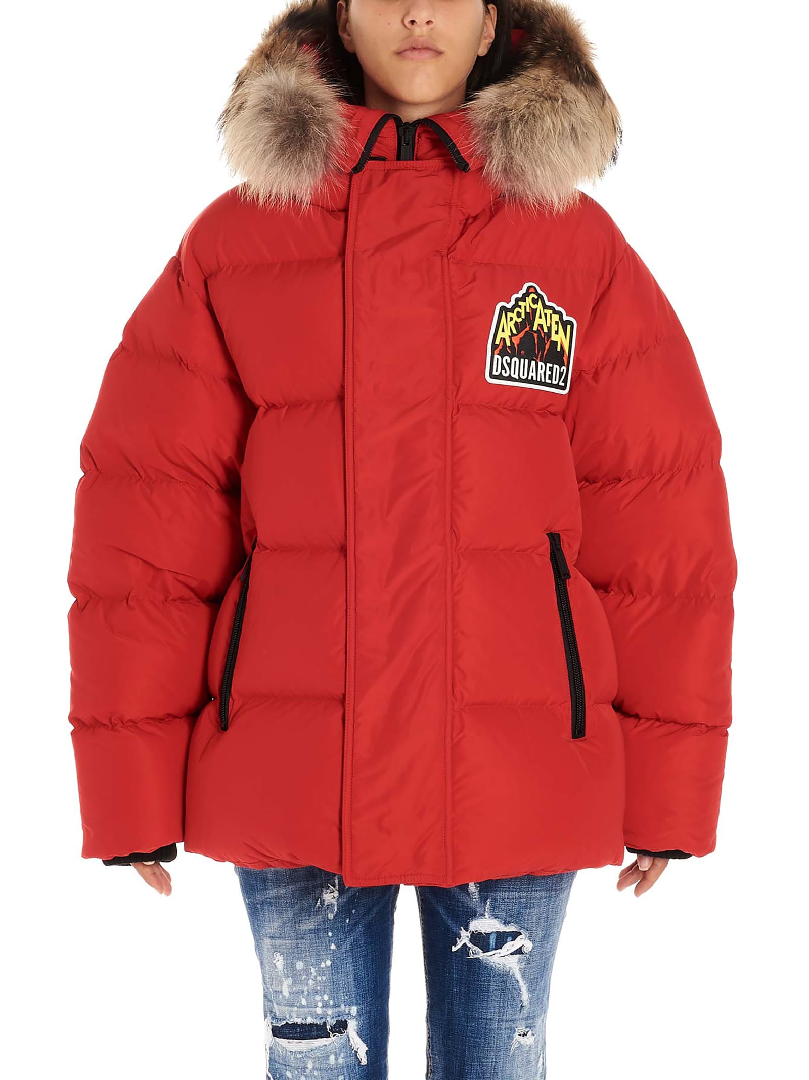 Dsquared2 mountain Puffer Down Jacket