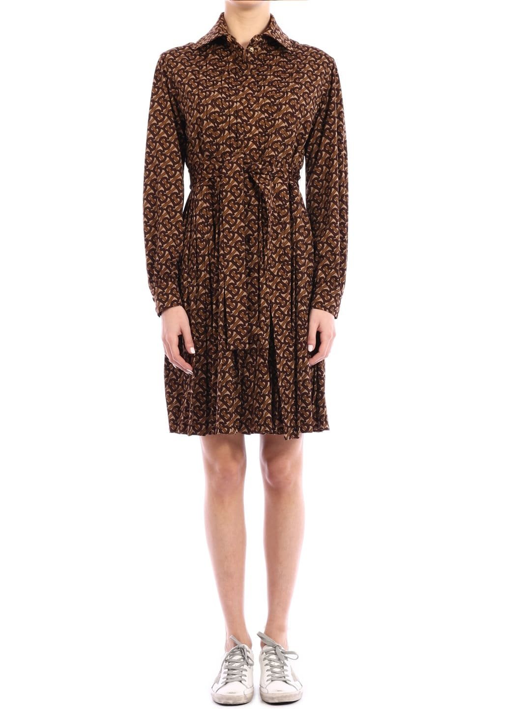 Buy Burberry Shirt Dress Monogram online, shop Burberry with free shipping