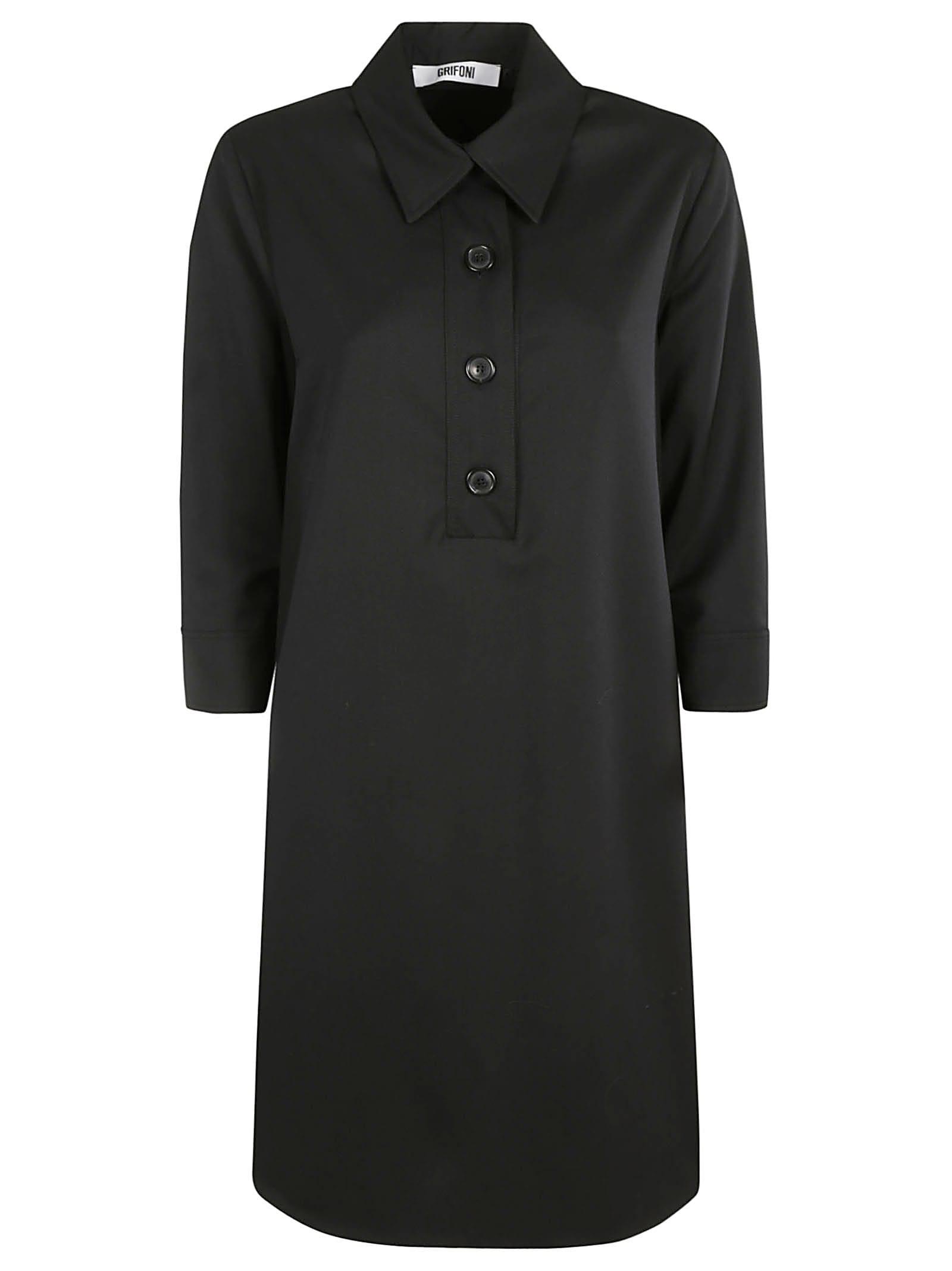 Button Placket Dress