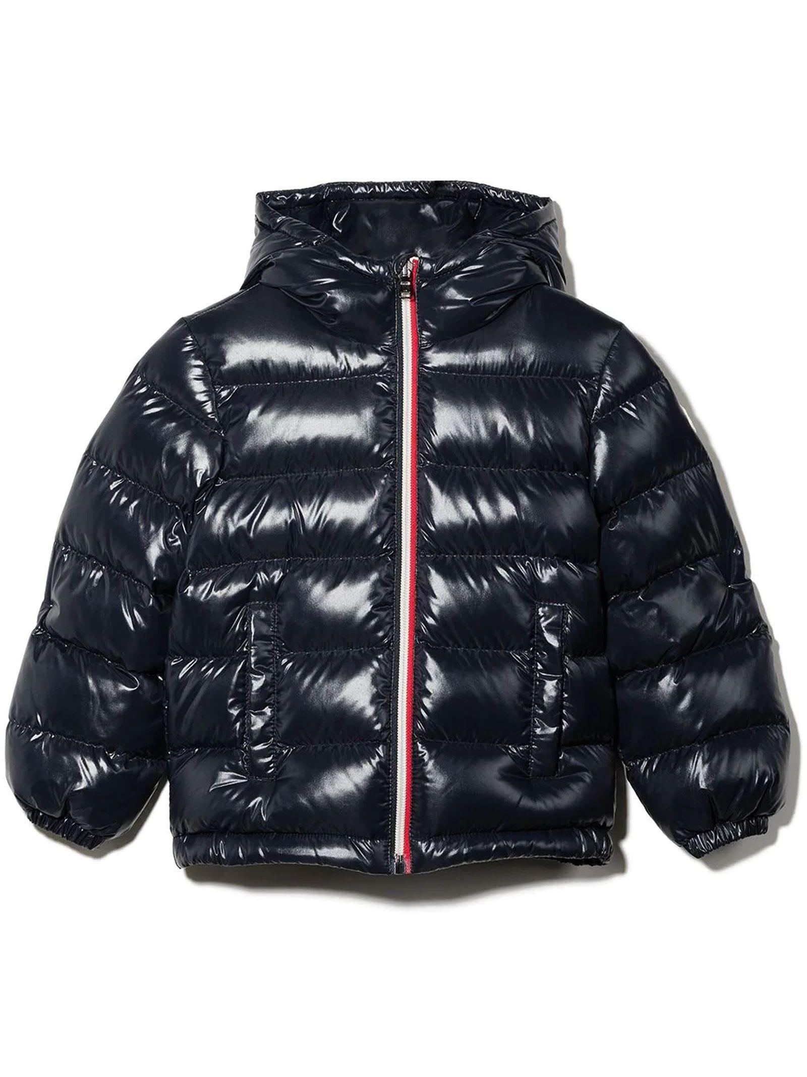 Moncler Navy Blue New Aubert Jacket