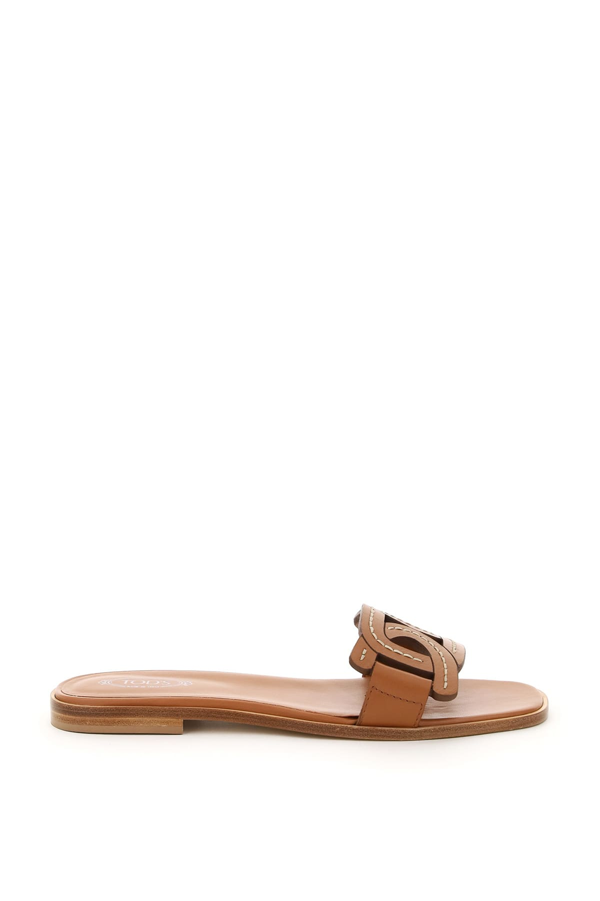 Tod's Leathers CHAIN LEATHER MULES