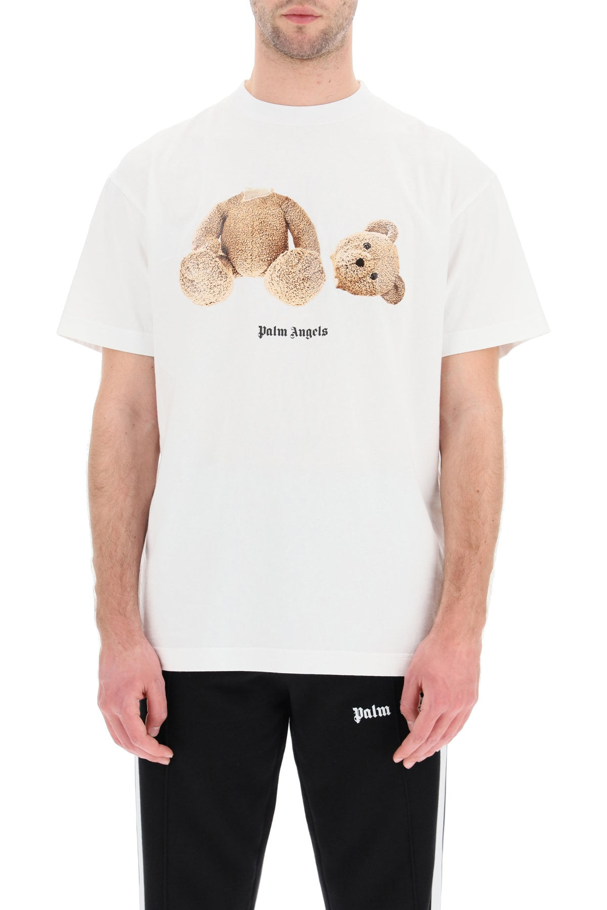 Palm Angels ICE BEAR PRINT T-SHIRT