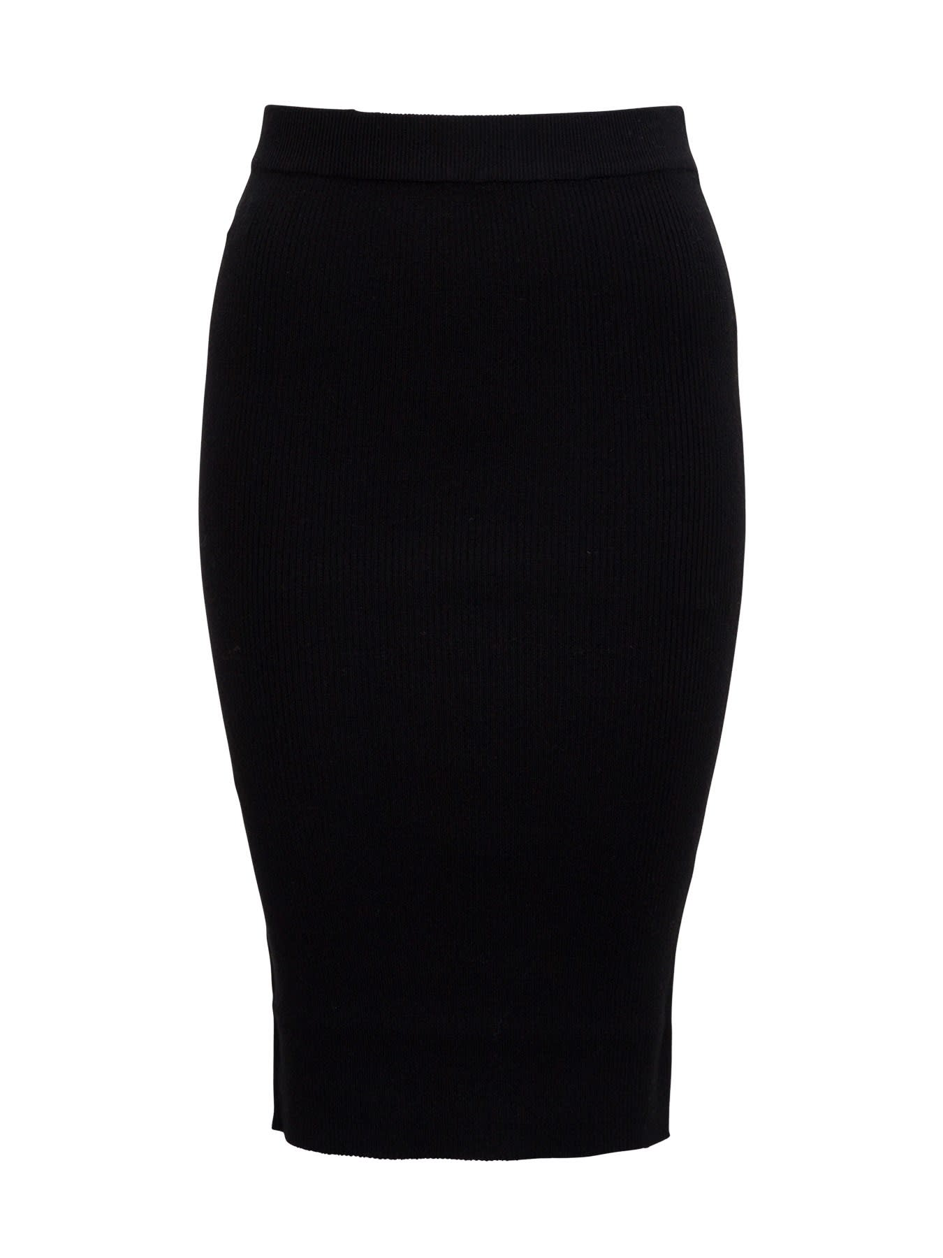 Pinko Wool Pencil Skirt