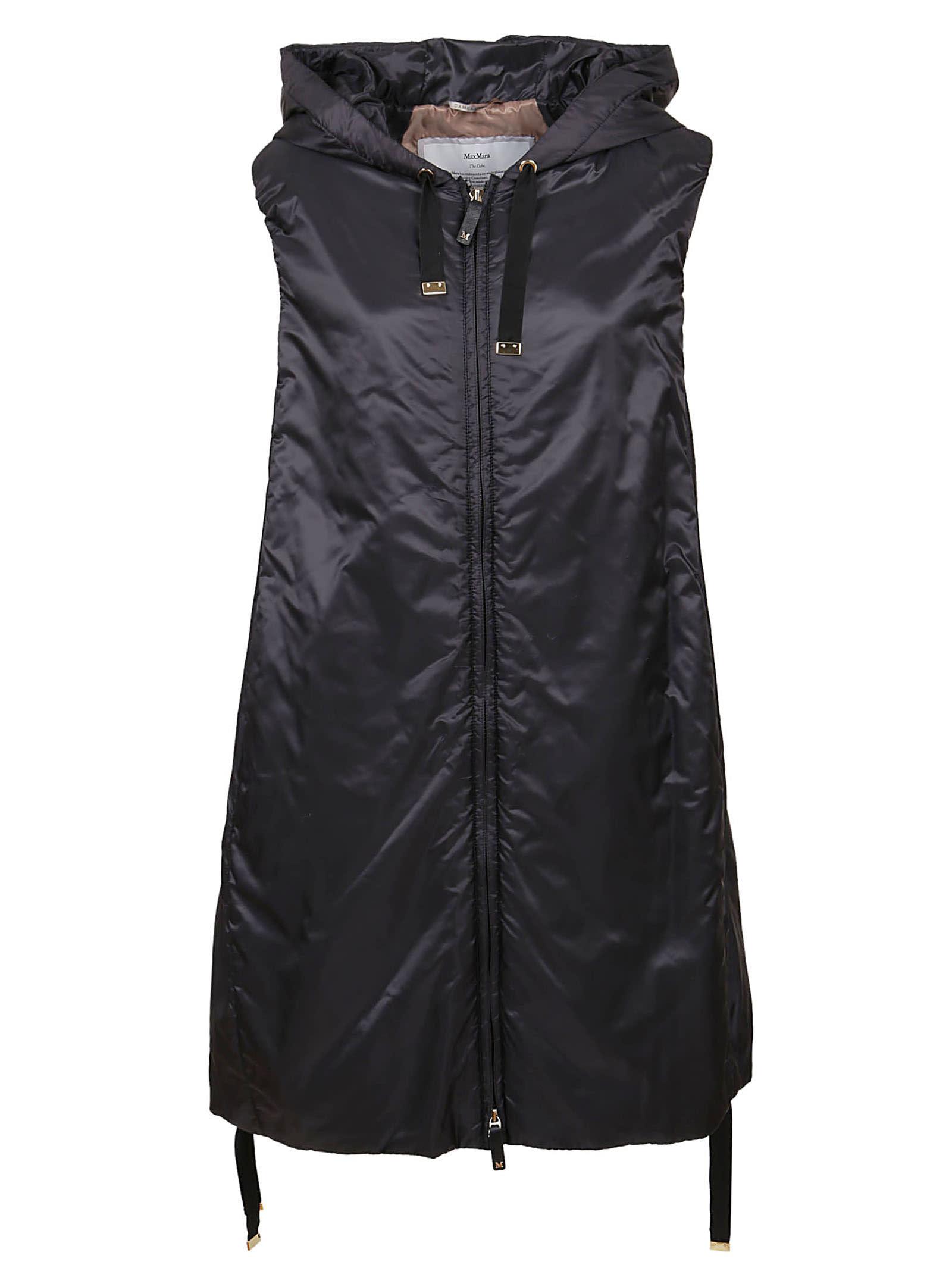 Max Mara Black Technical Fabric Vest