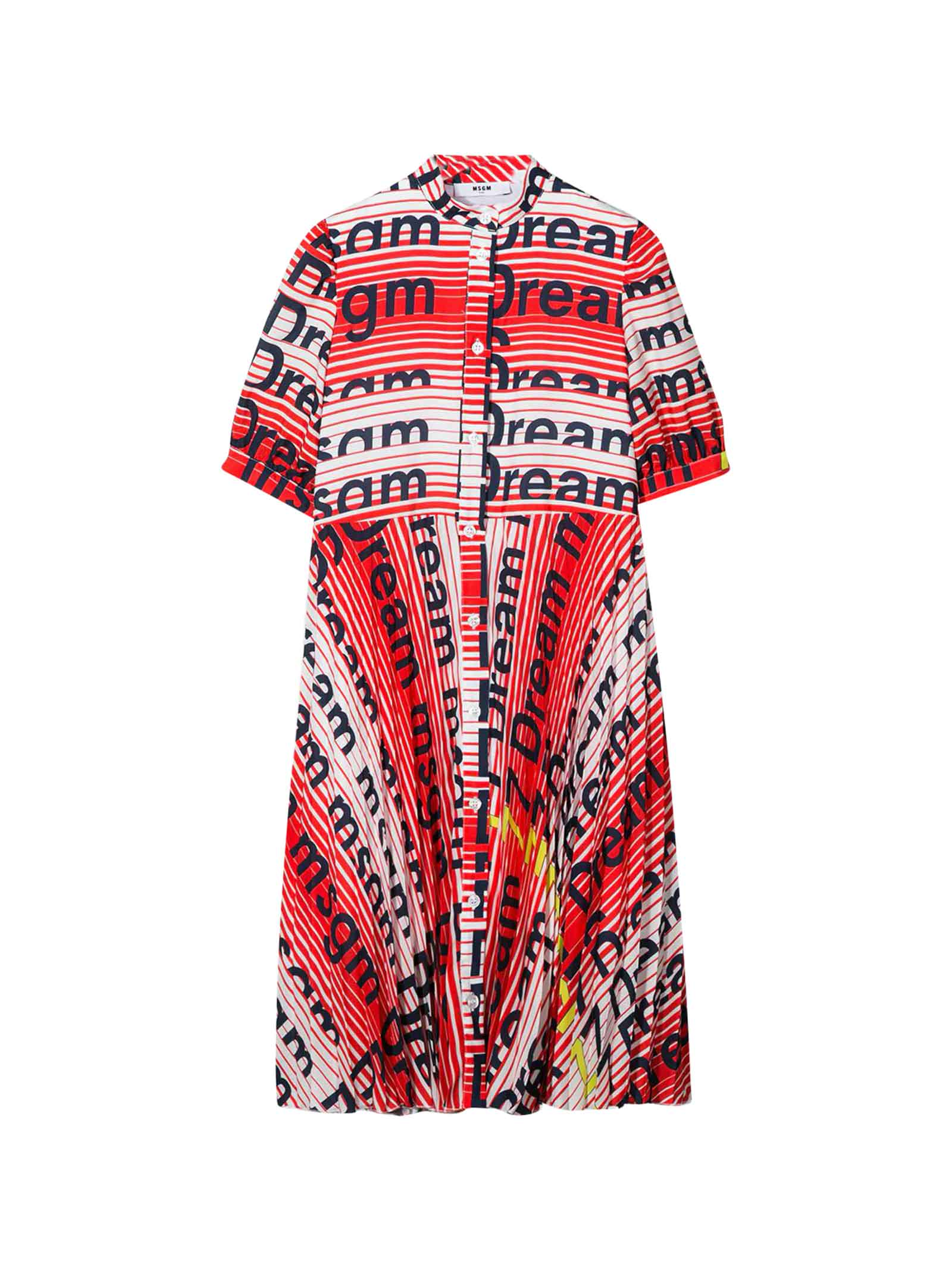 Buy MSGM Multi-colored Dress Teen online, shop MSGM with free shipping