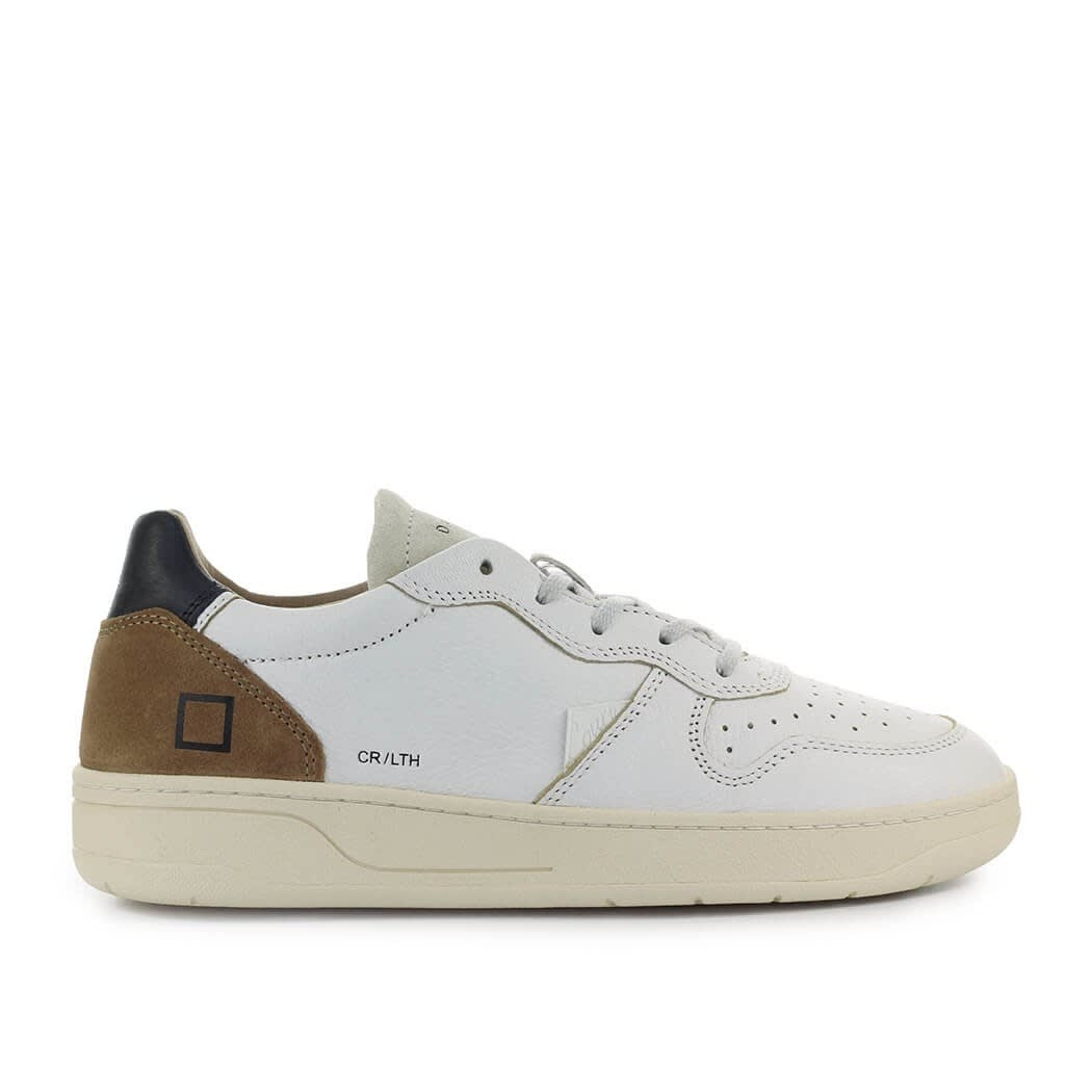 Court White Brown Sneaker