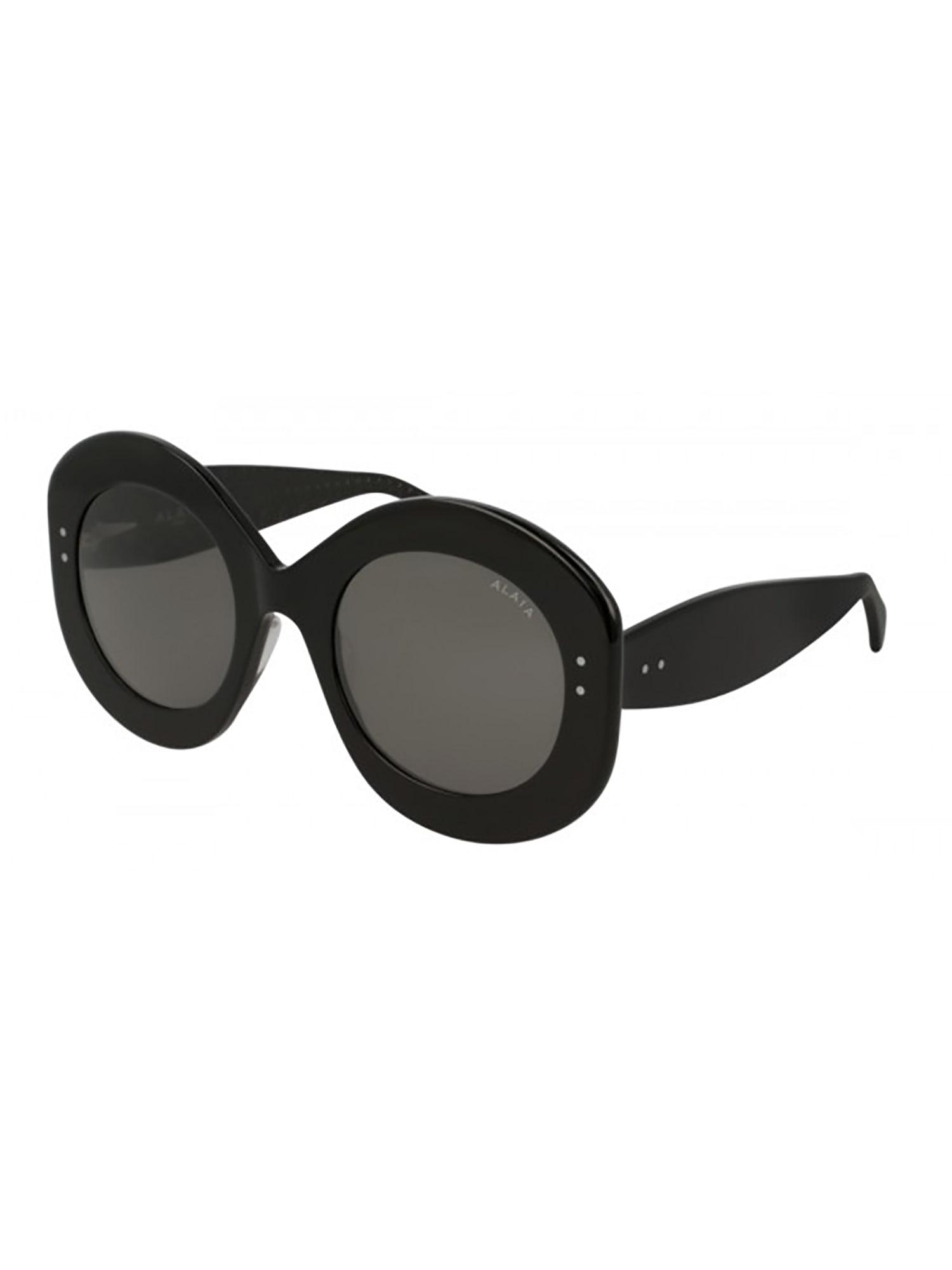 Alaïa Aa0003s Sunglasses In Black Black Grey