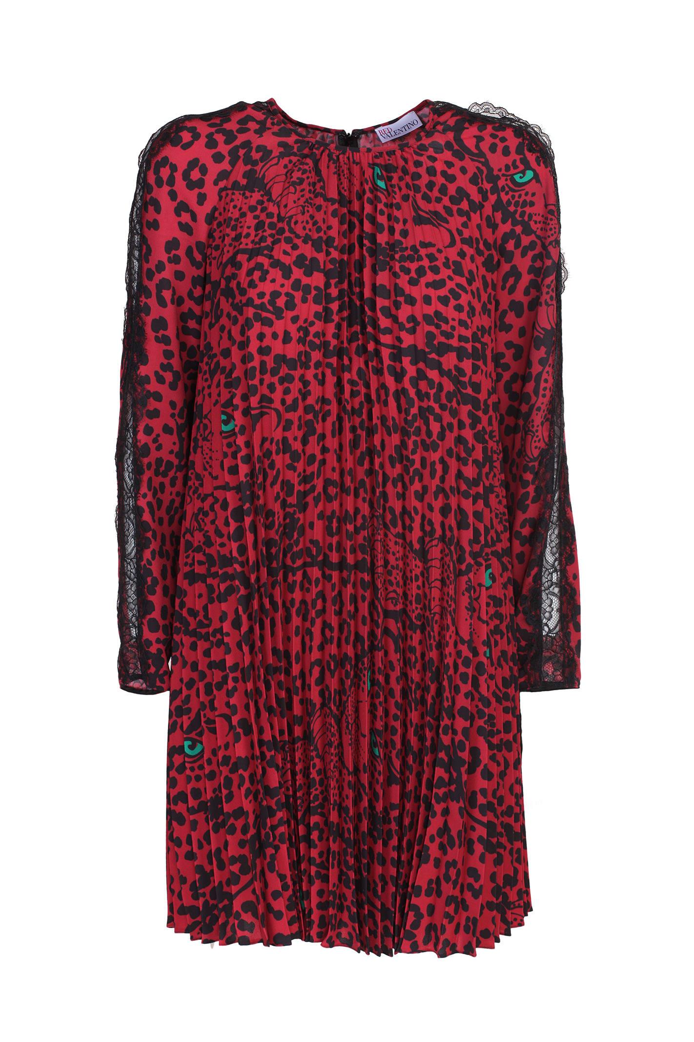 Red Valentino pleated dress