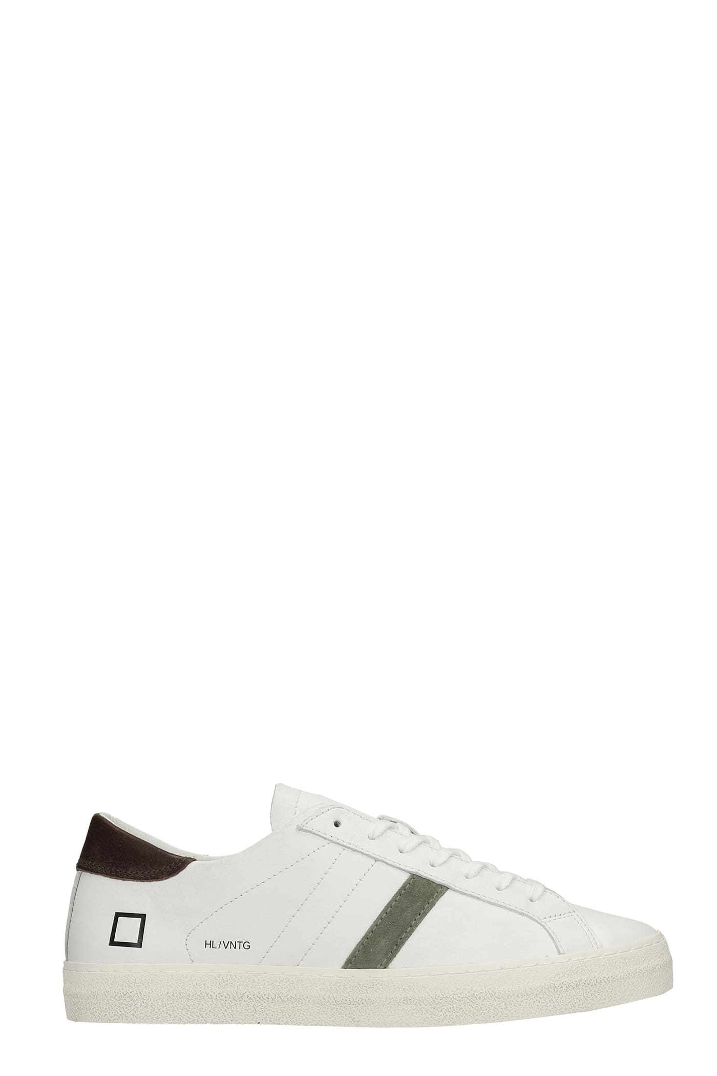 Hill Low Sneakers In White Leather