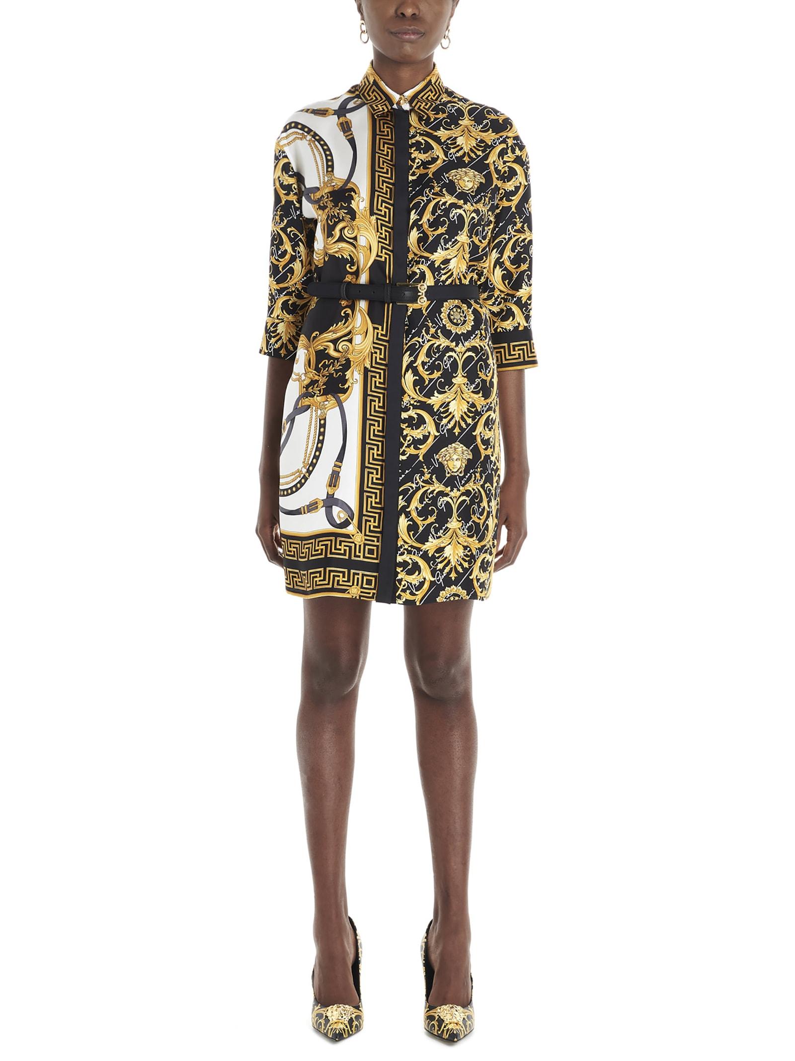 Versace heritage Signature Barocco Dress