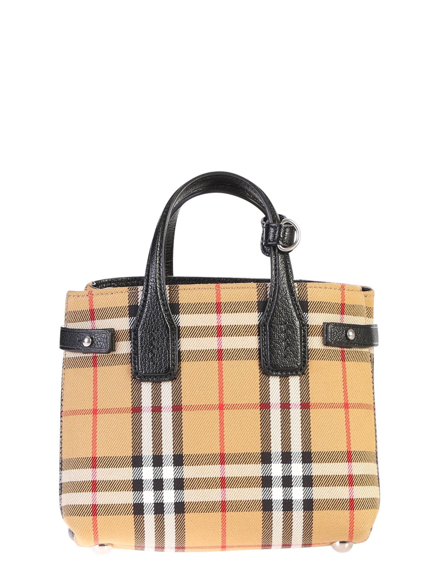 Burberry Burberry Baby Banner Bag Beige 10972119 Italist