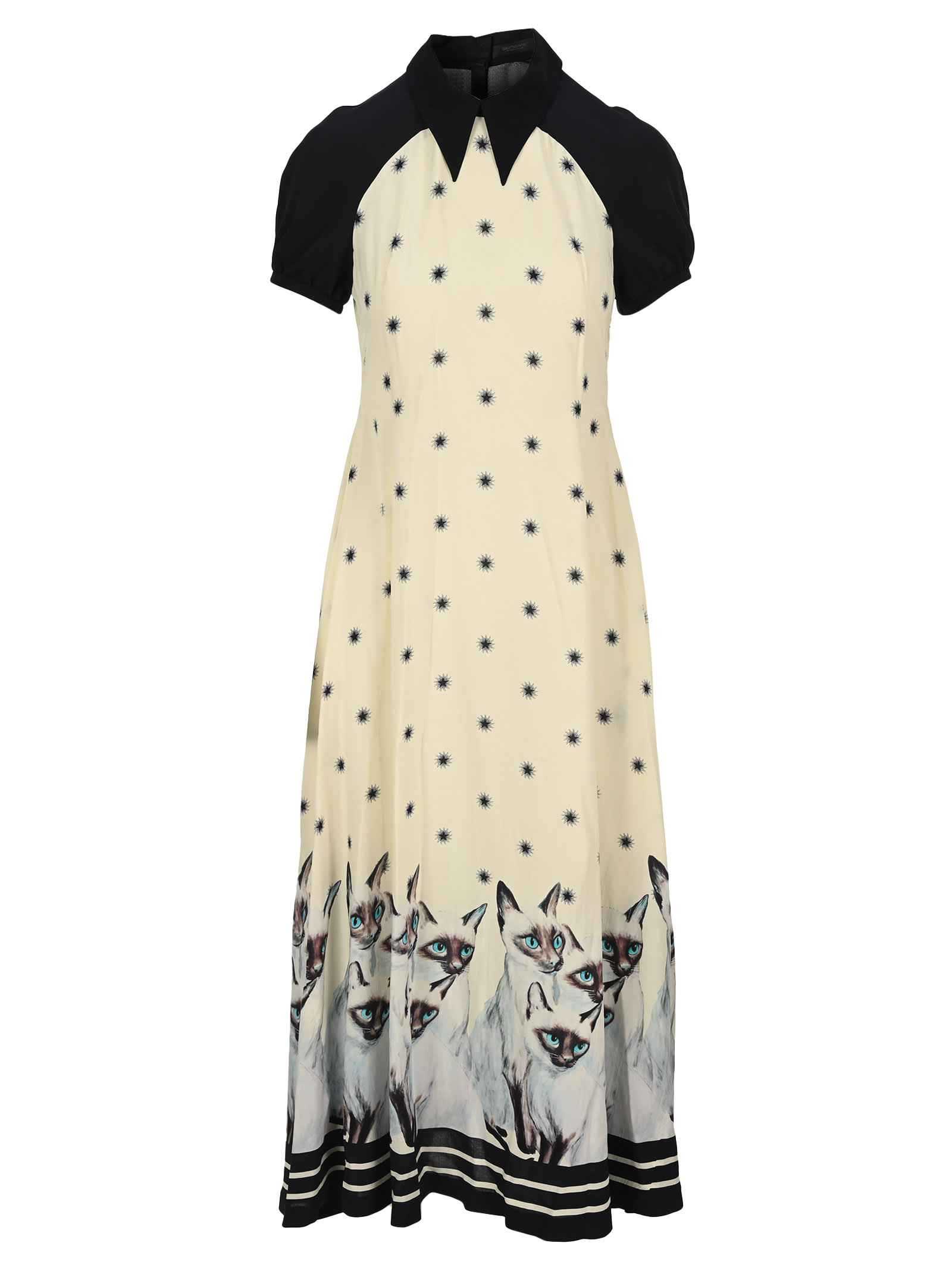 Undercover UNDERCOVER PAINTED CAT DRESS