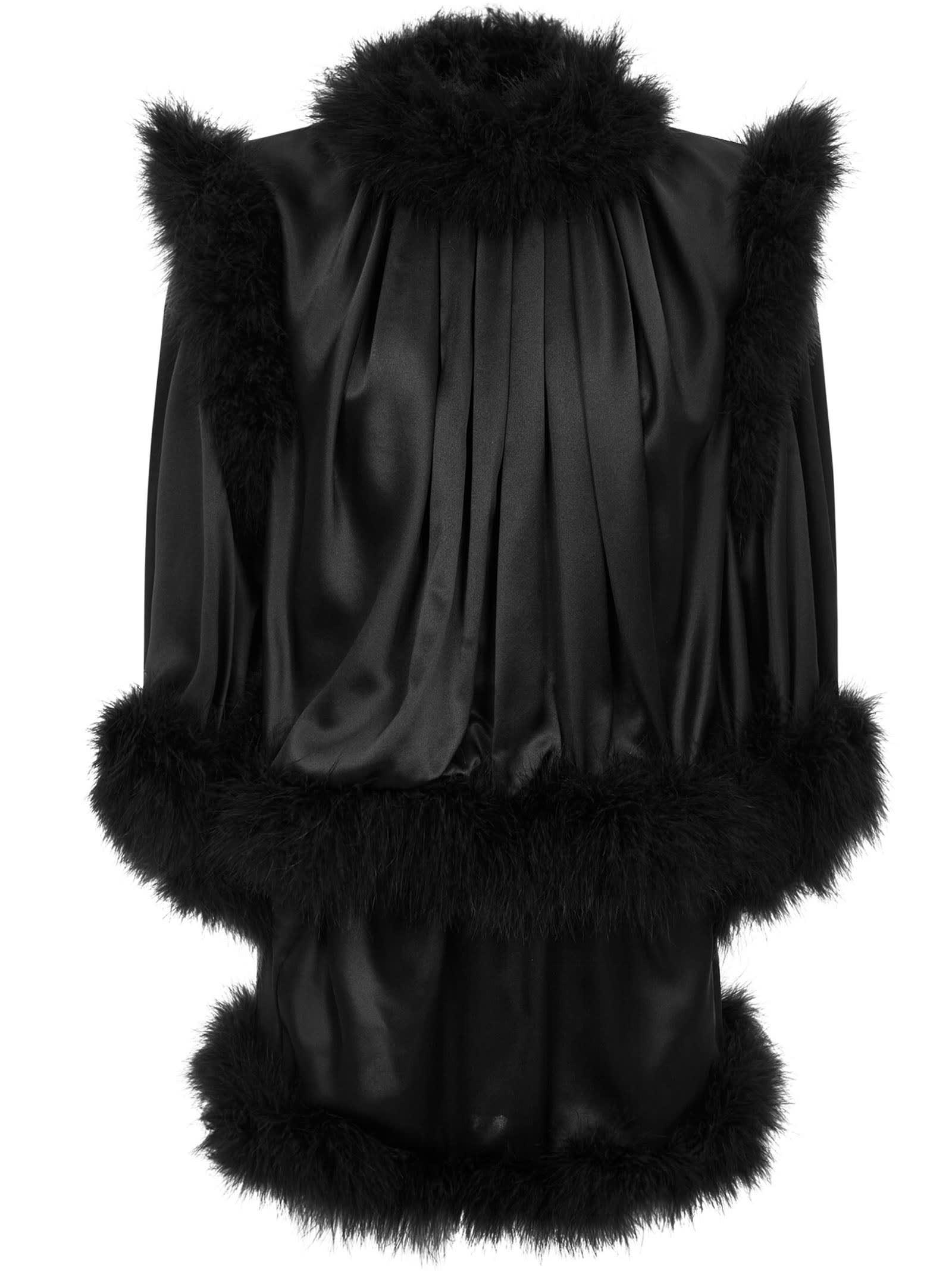 Buy Saint Laurent Mini Dress online, shop Saint Laurent with free shipping