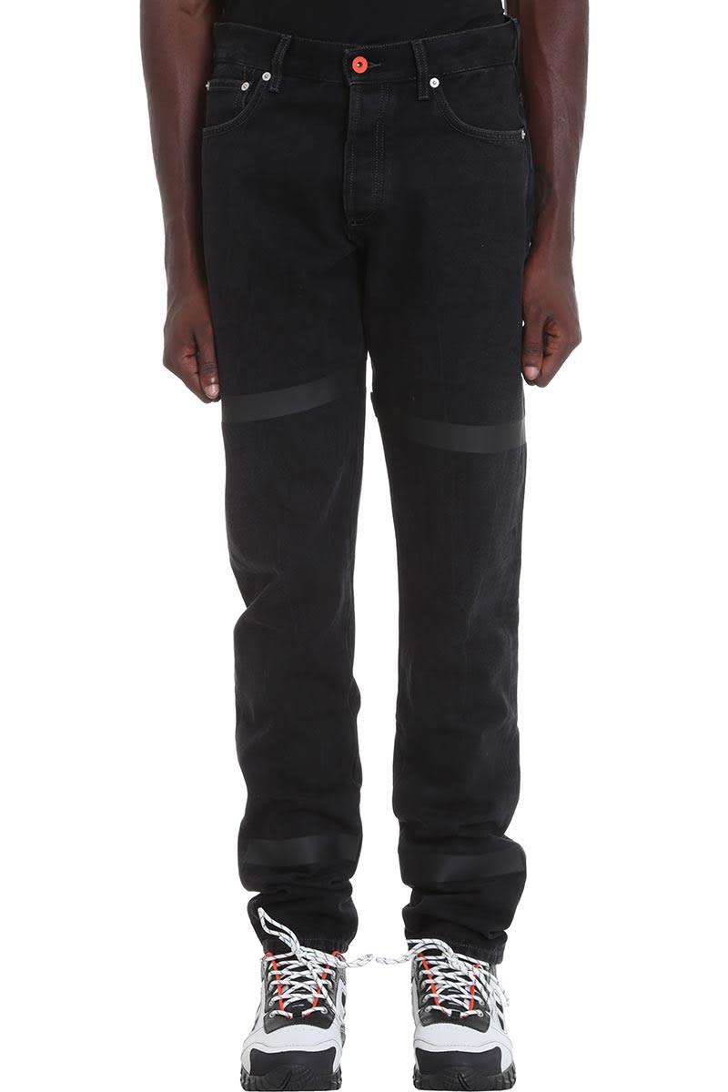 HERON PRESTON Kk 5pockets Jeans In Black Denim