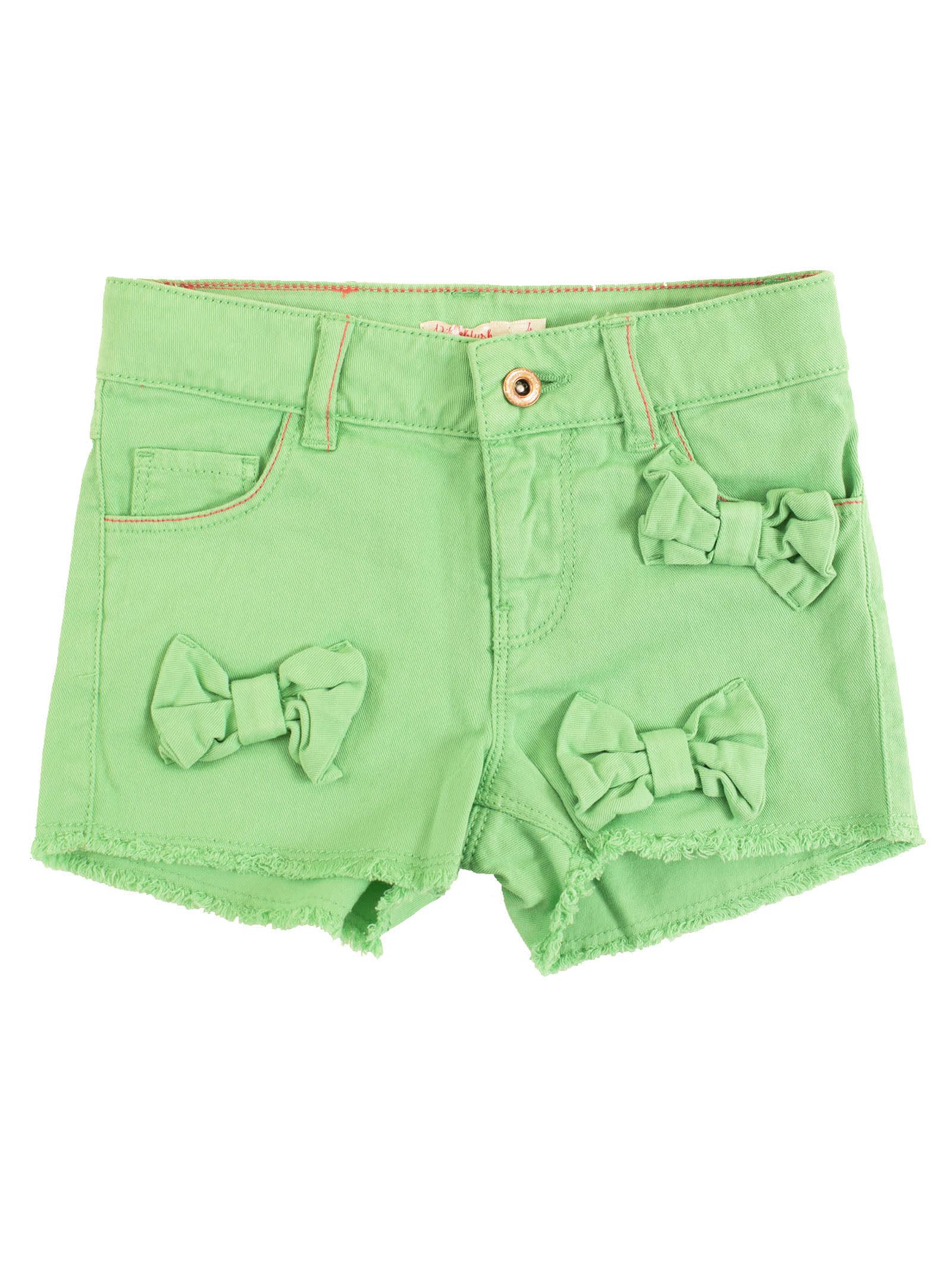 Bow Mini Shorts