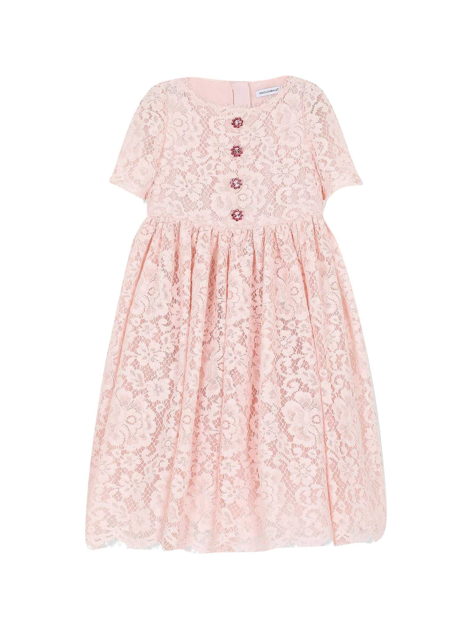 Buy Dolce & Gabbana Crewneck Dress online, shop Dolce & Gabbana with free shipping
