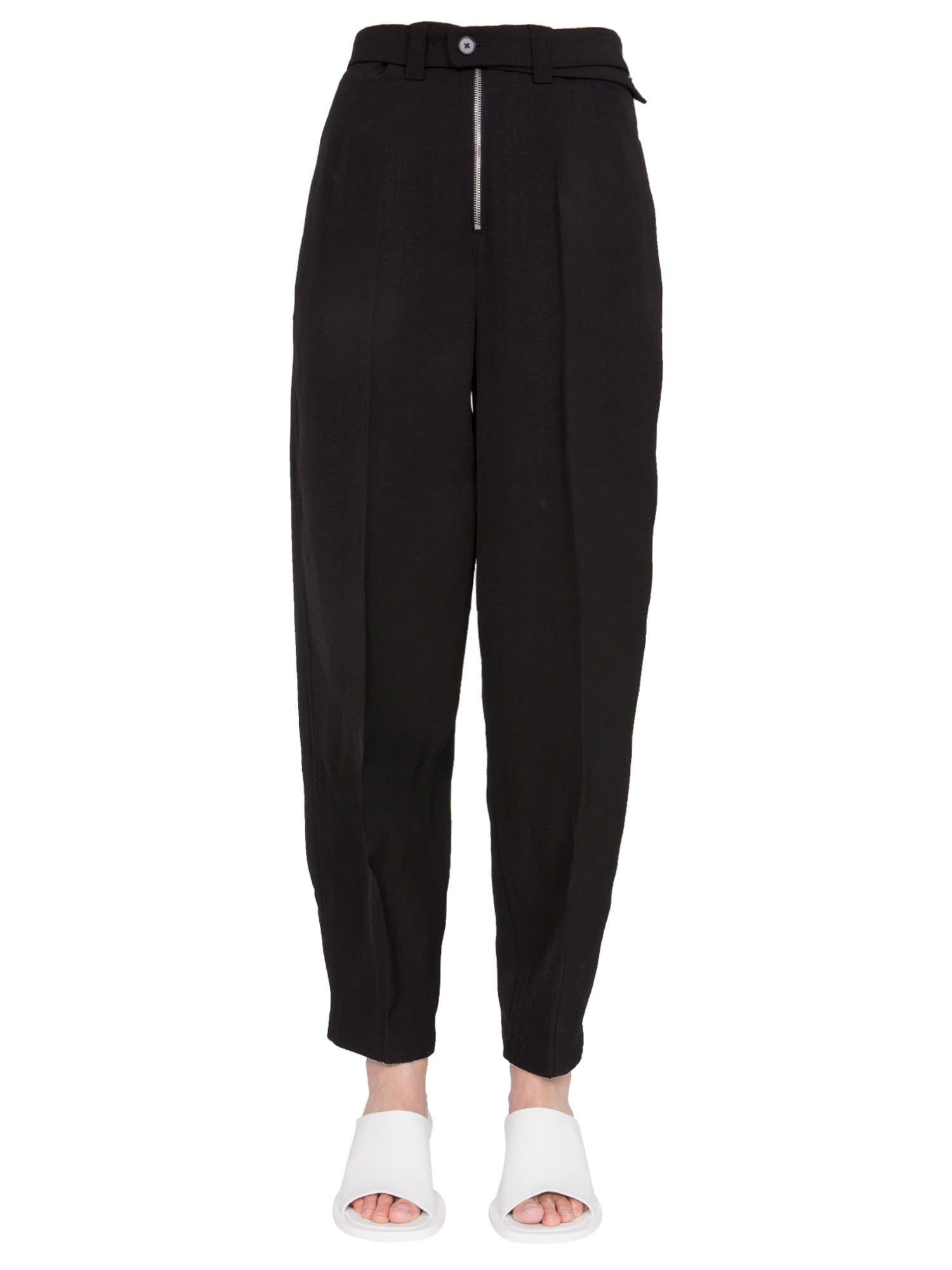 Jil Sander PANTS WITH PLIERS ON THE ANKLES