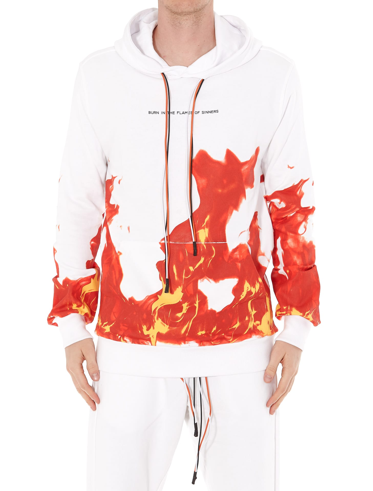 Ihs Flames Hoodie