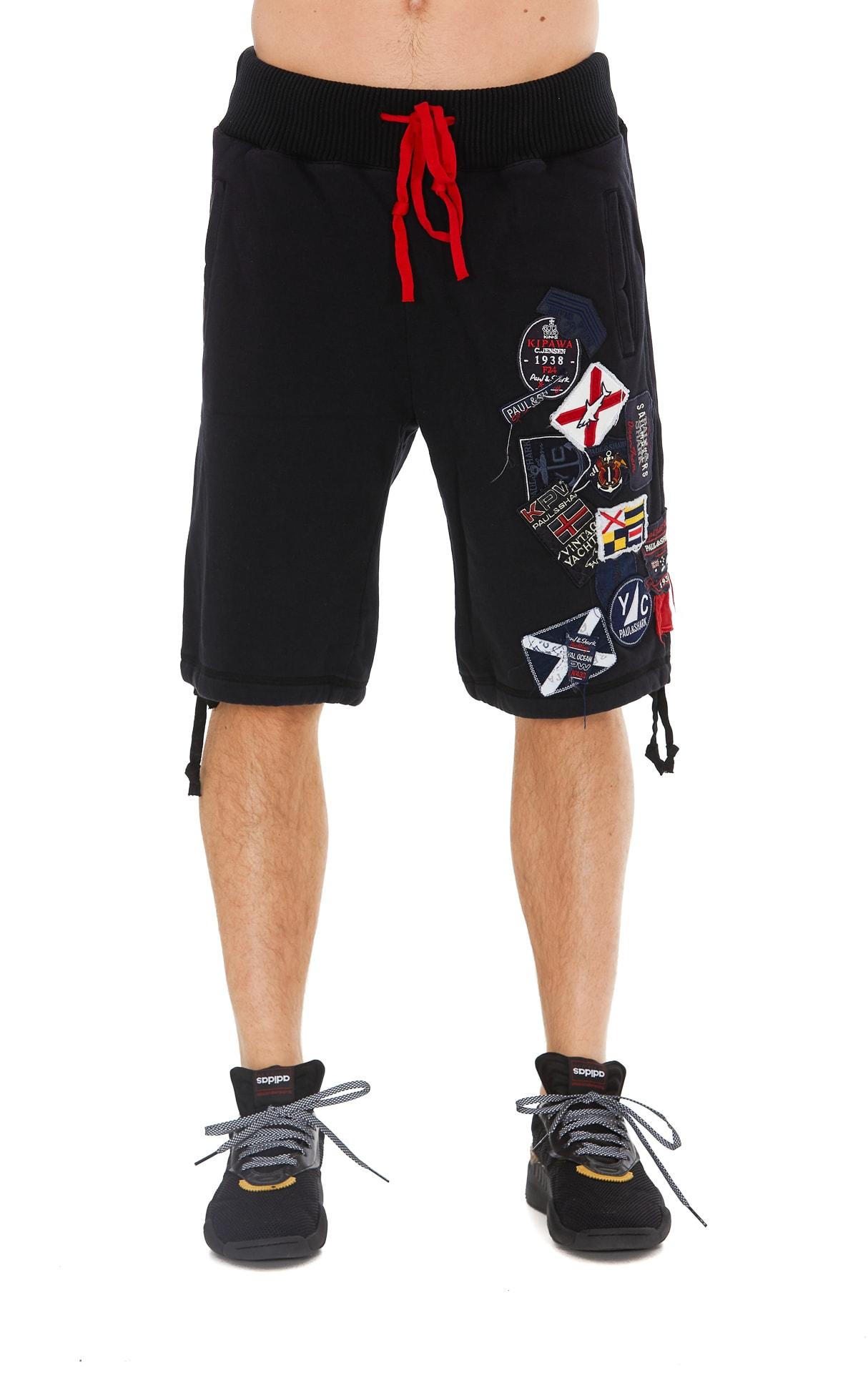 Greg Lauren Patch Shorts