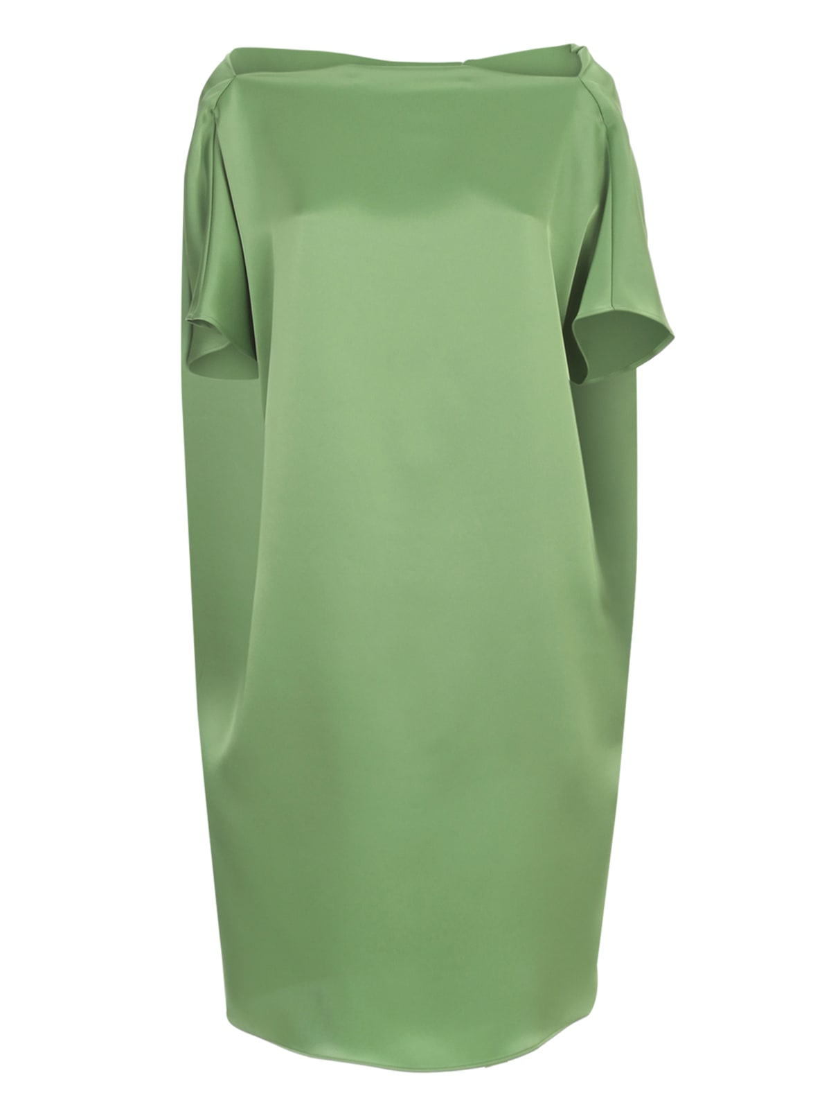Gianluca Capannolo Judy Relaxed Dress Boat Neck
