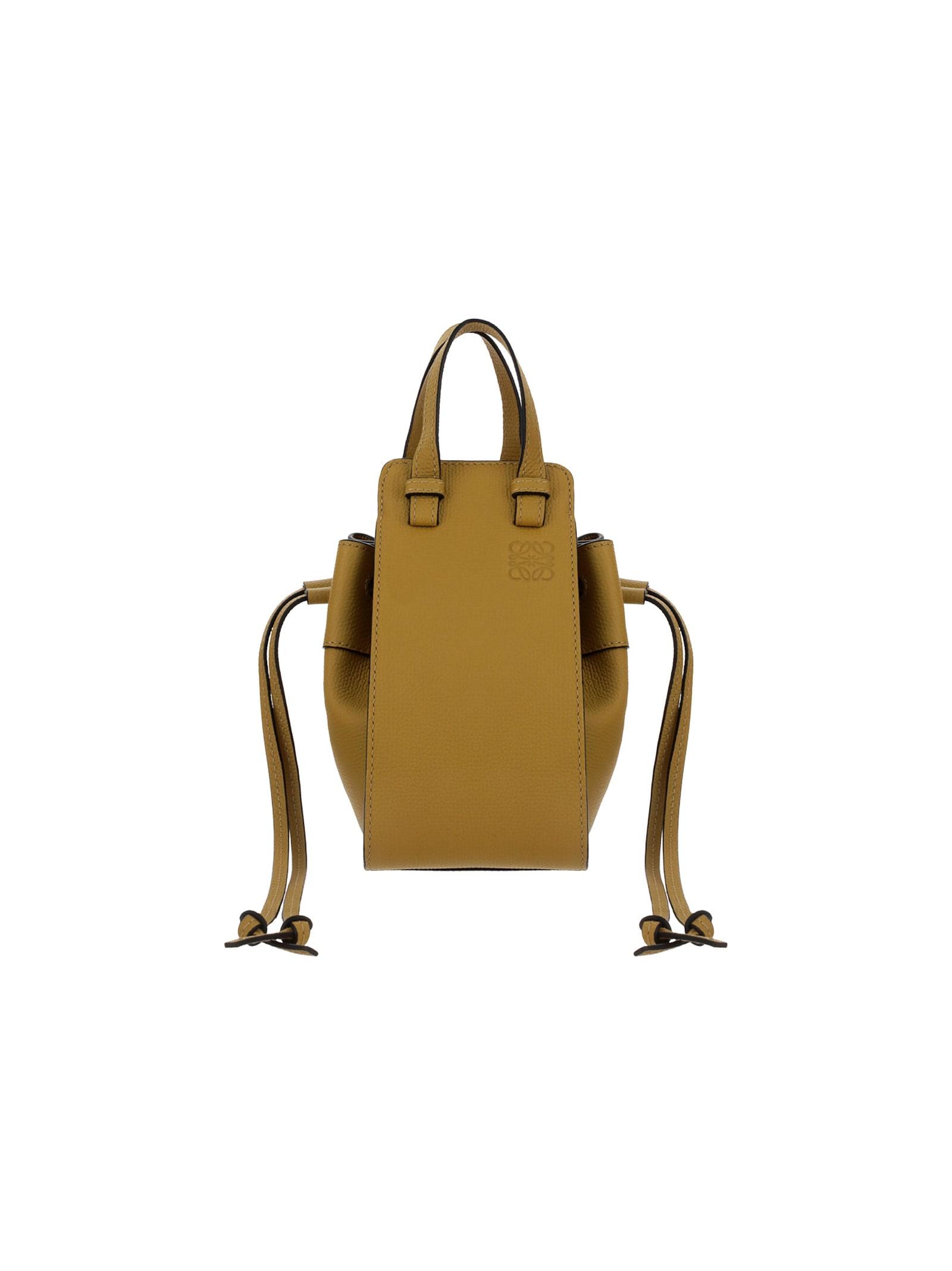 Loewe Mini Dw Hammock Leather Hand Bag