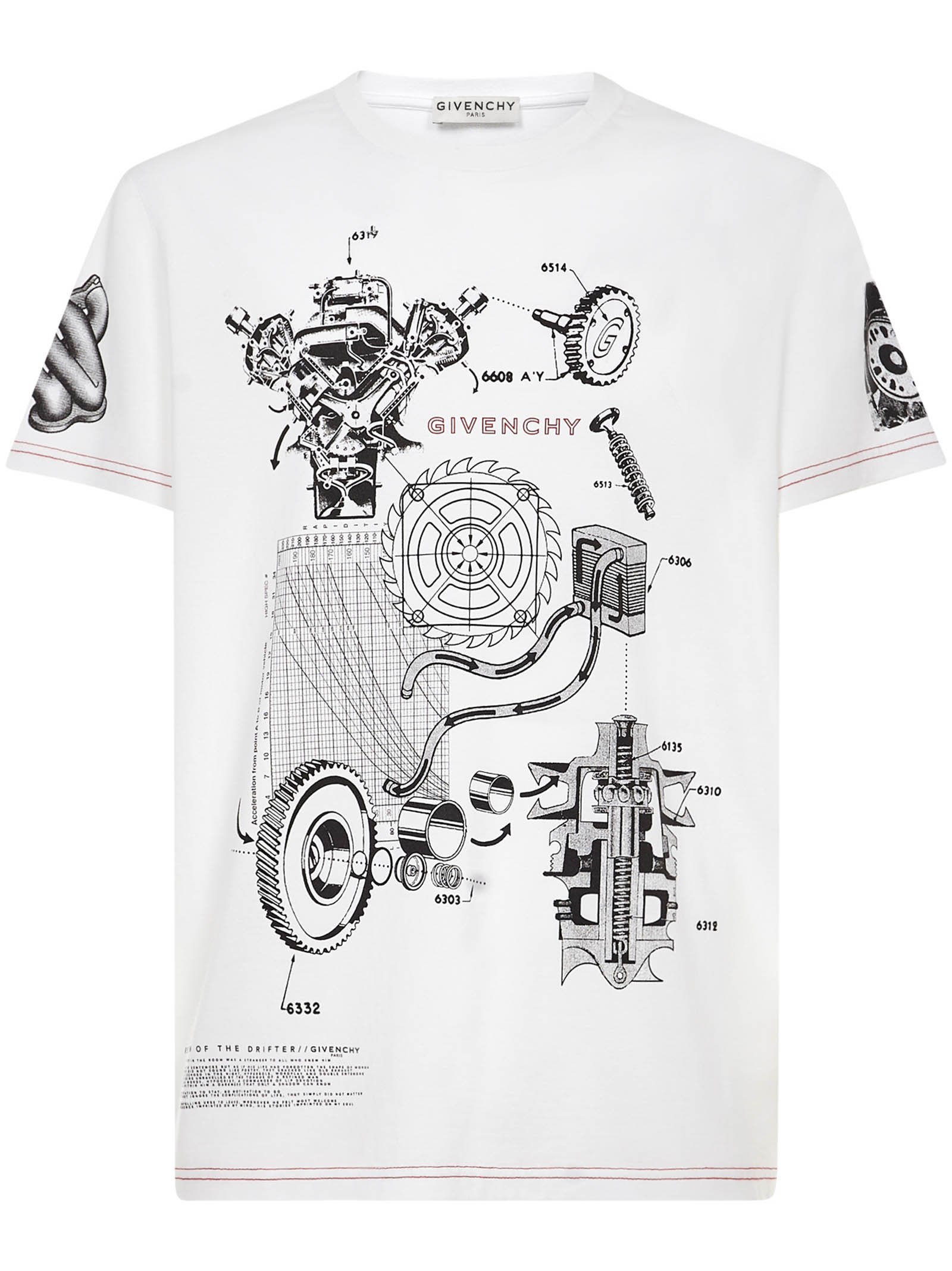 Givenchy SCHEMATICS T-SHIRT