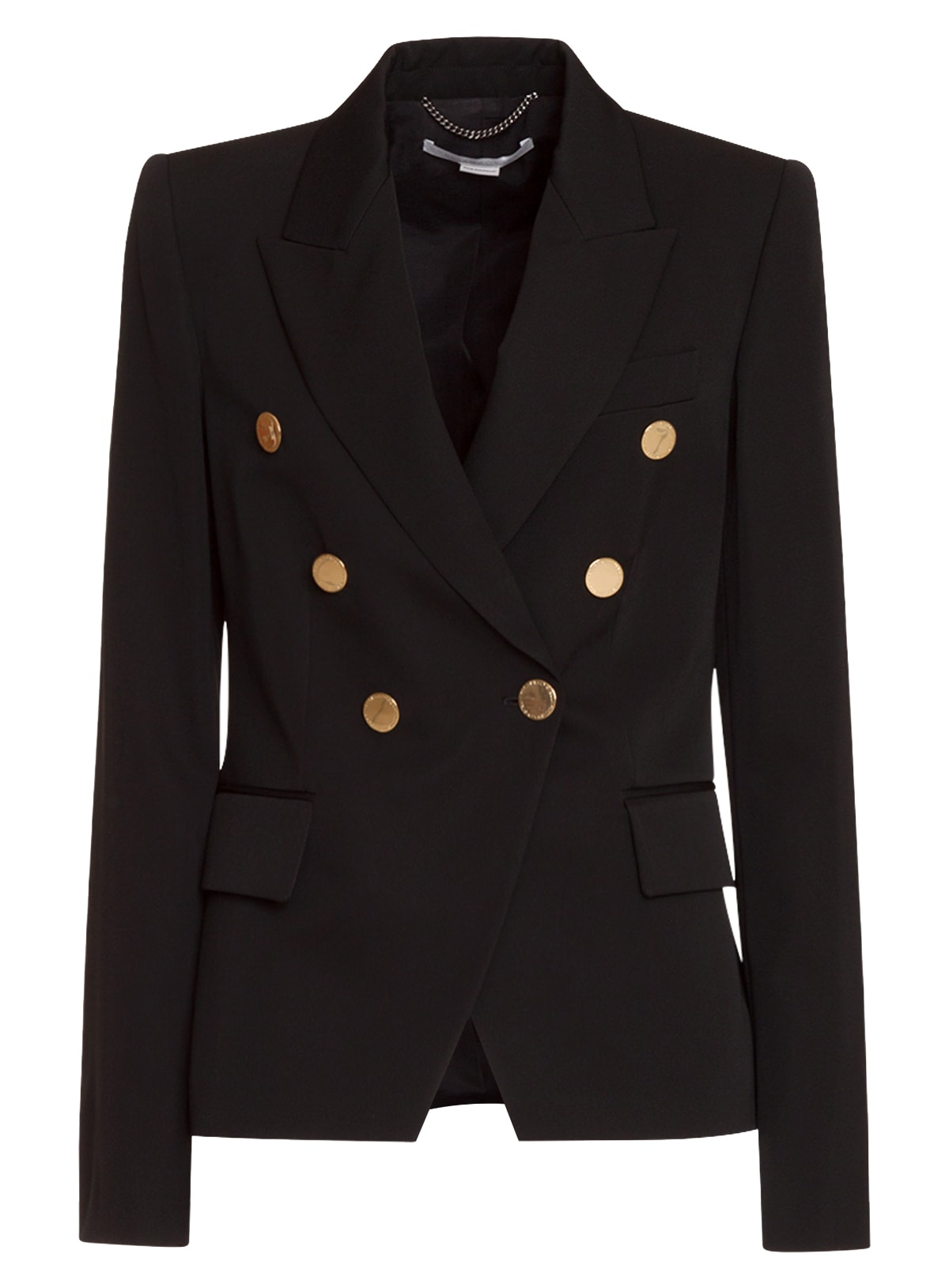 Photo of  Stella Mccartney Classic Double Breasted Blazer- shop Stella McCartney jackets online sales