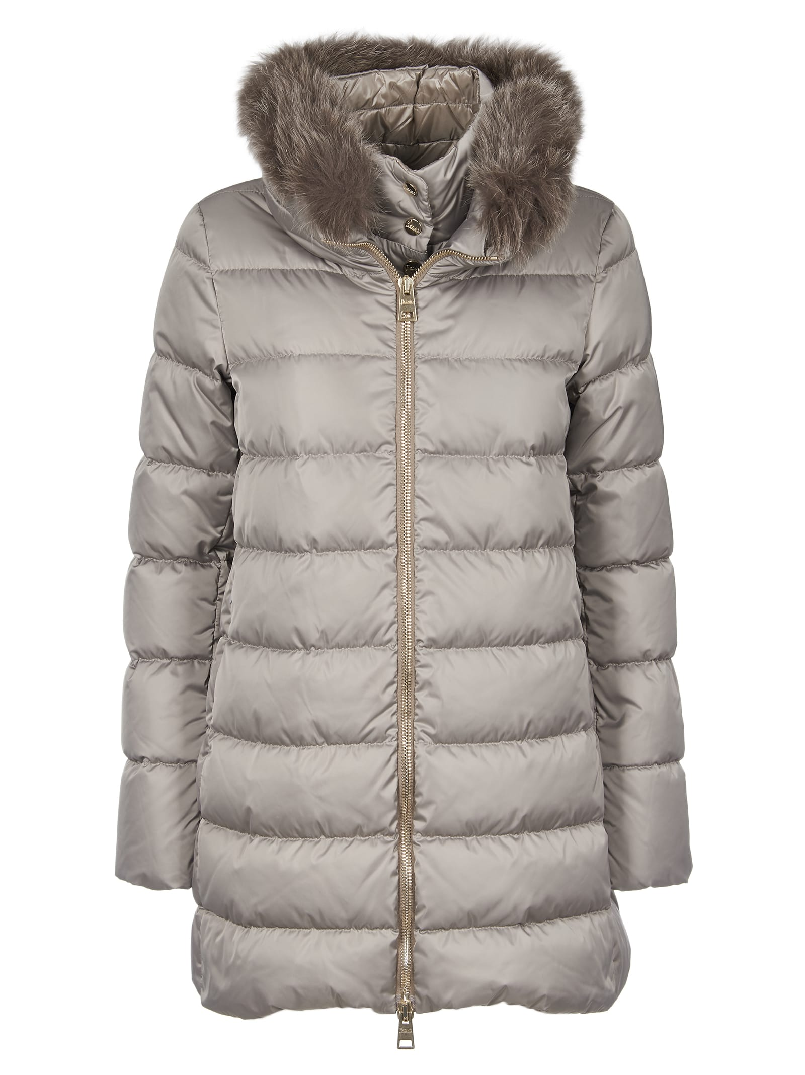 Herno Down Jacket With Fur
