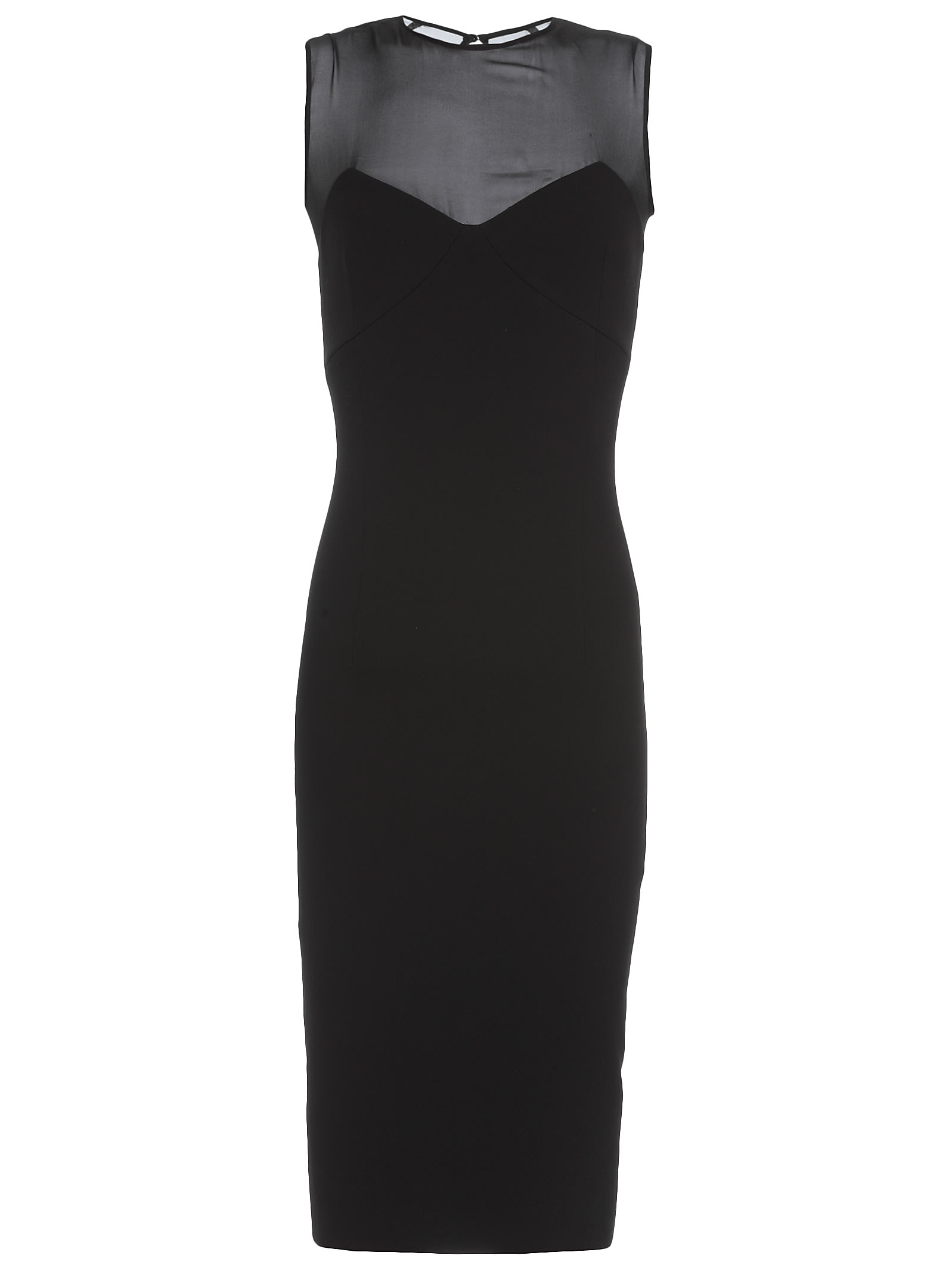 Victoria Beckham Plain Color Pencil Dress